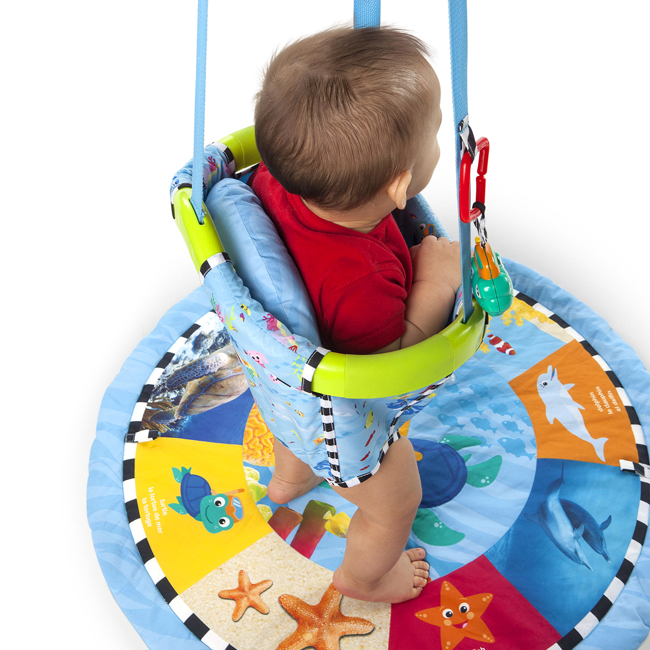 Colors of the Ocean 3-in-1 Jumper & Activity Mat™