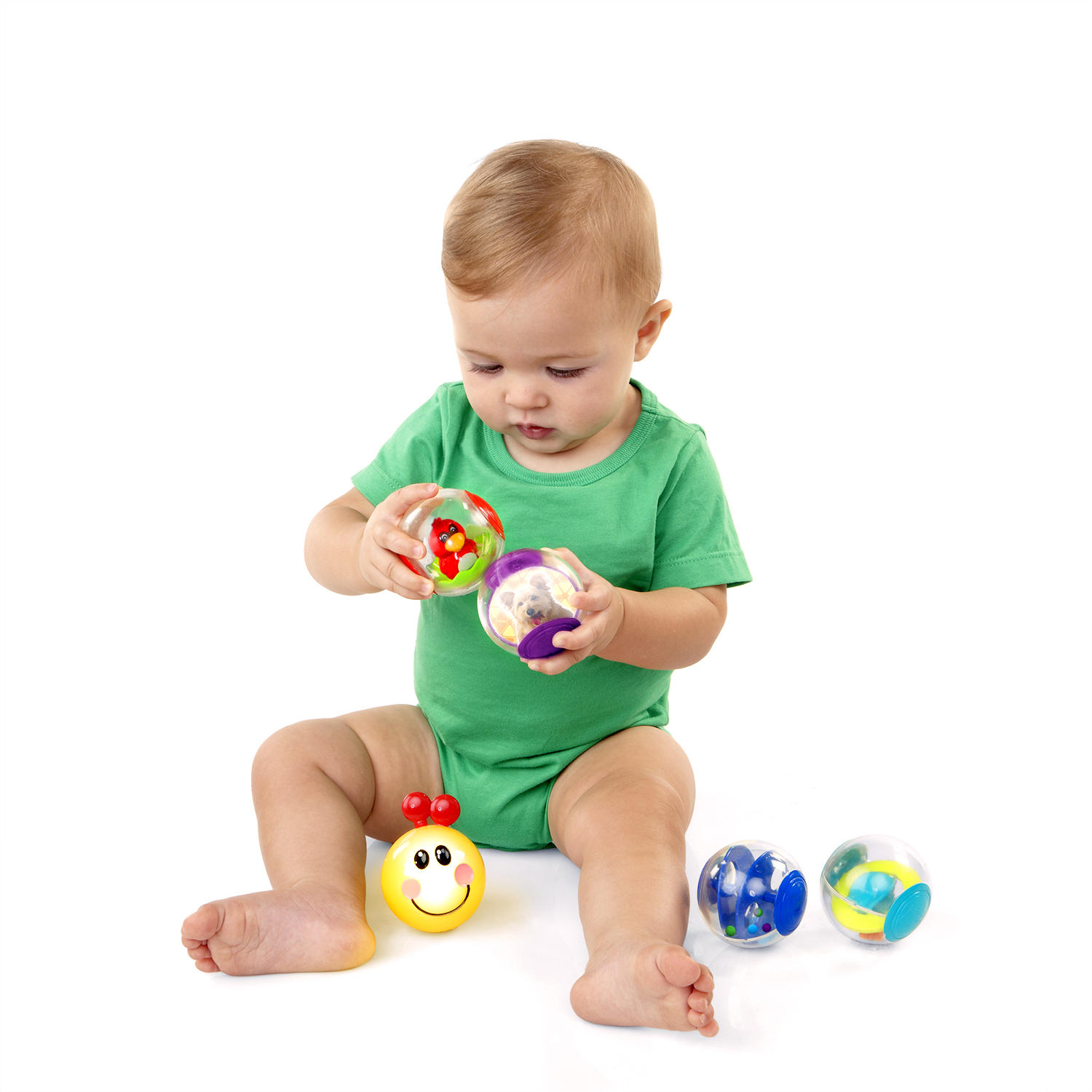 Roller-pillar Activity Balls™ Toy