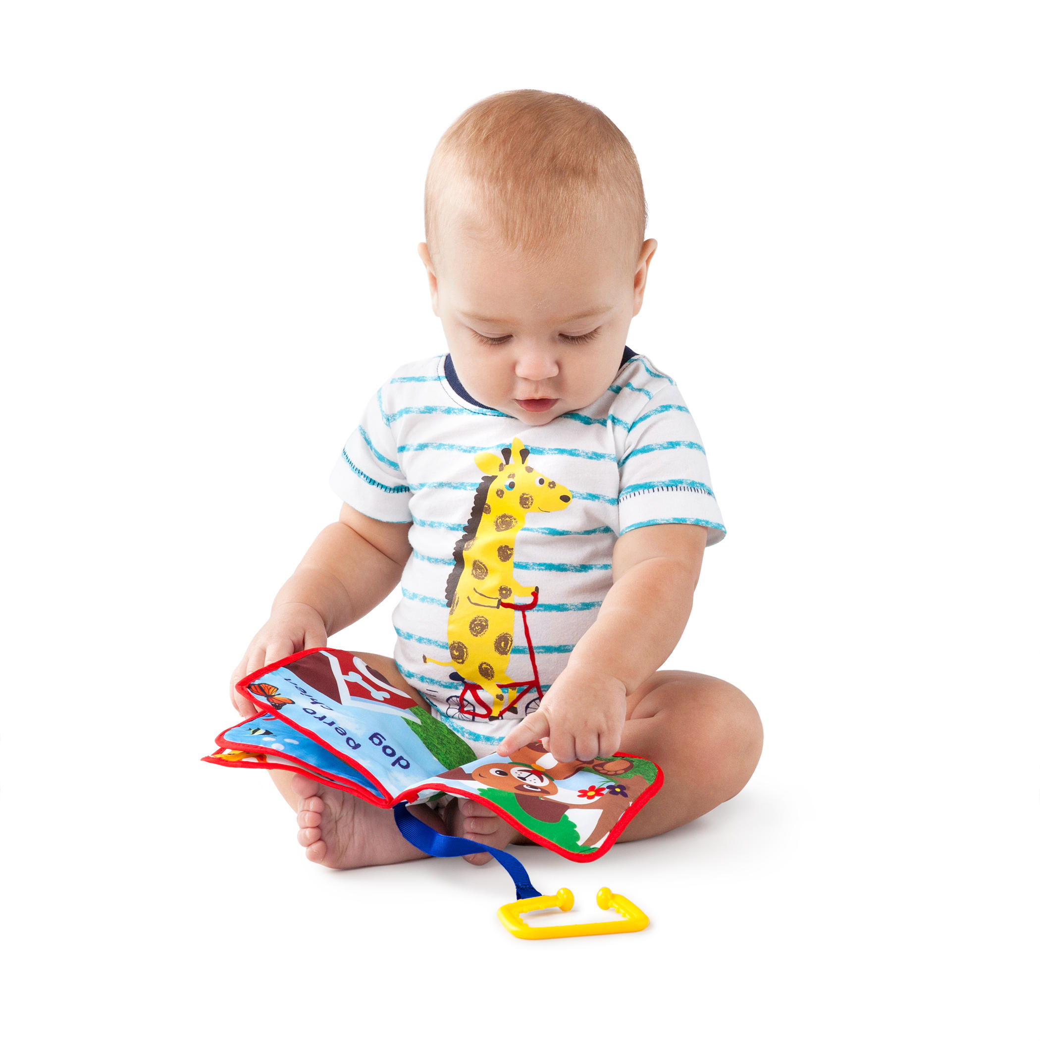Explore & Discover Soft Book™ Toy