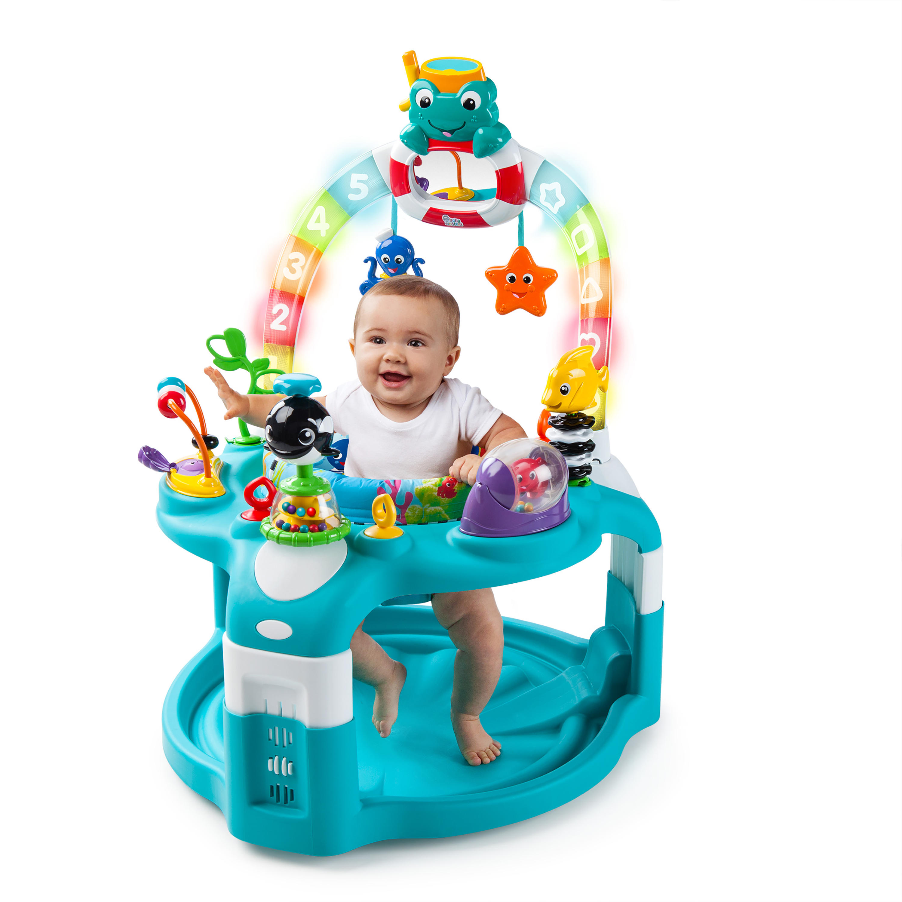 2-in-1 Lights & Sea Activity Gym & Saucer™