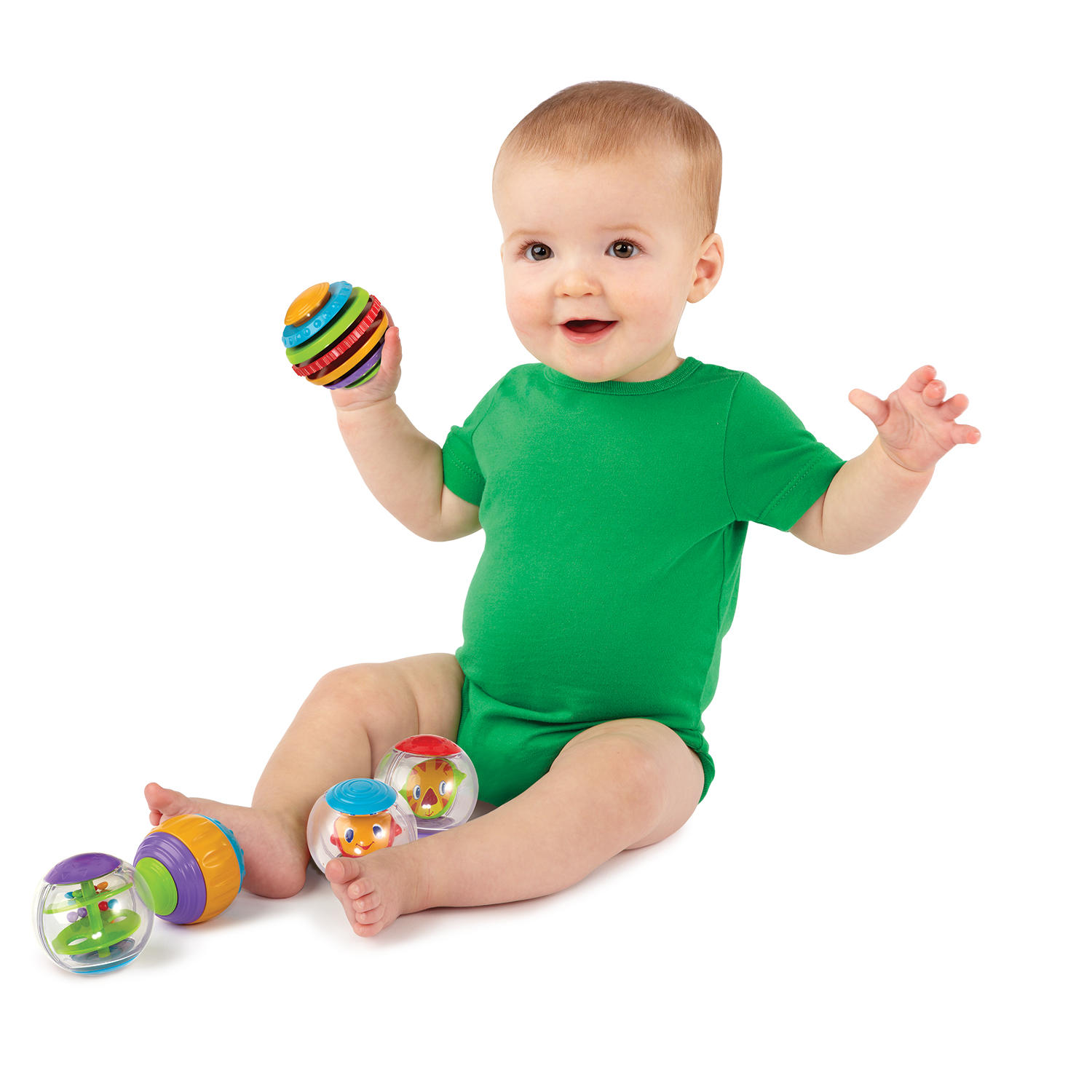 Shake & Spin Activity Balls™ Toy