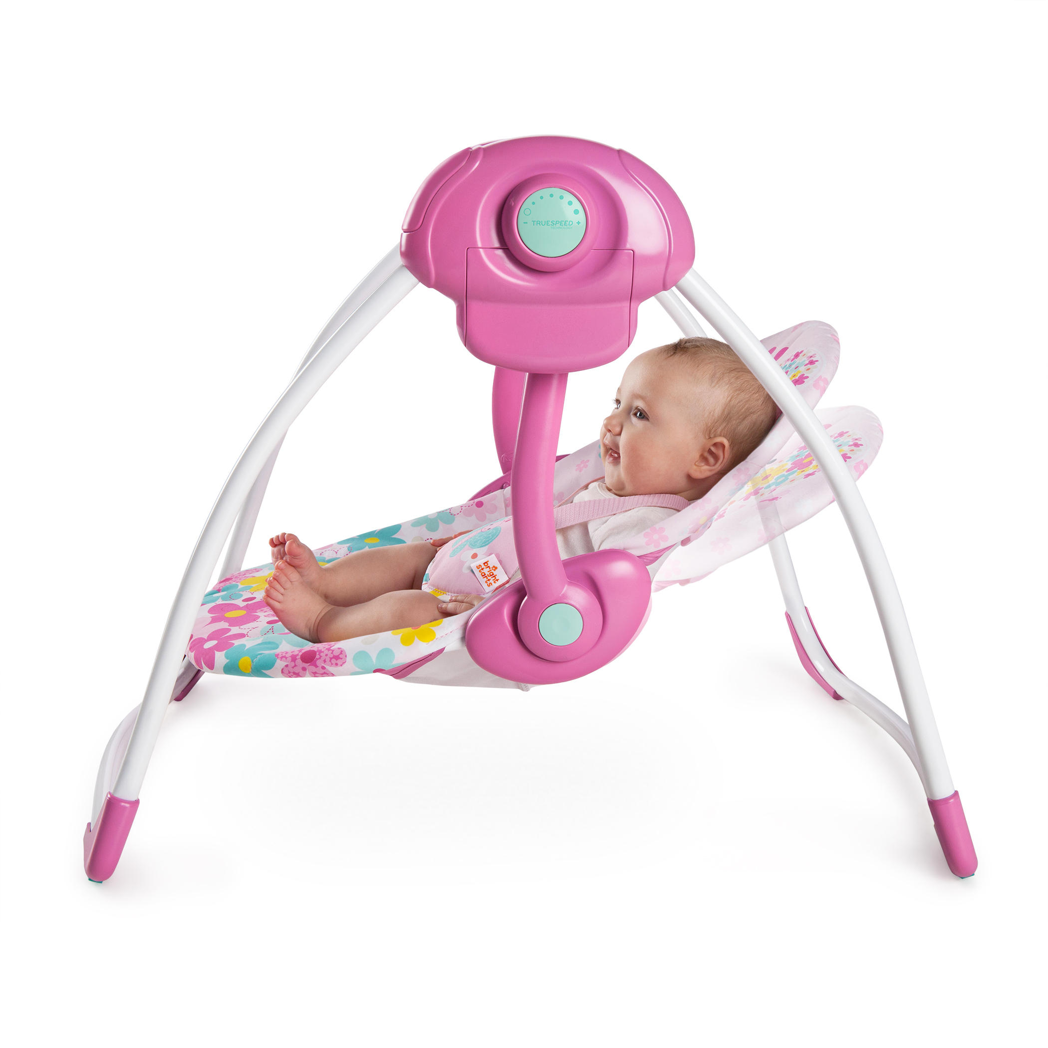Pretty In Pink™ Butterfly Cutouts Portable Swing™