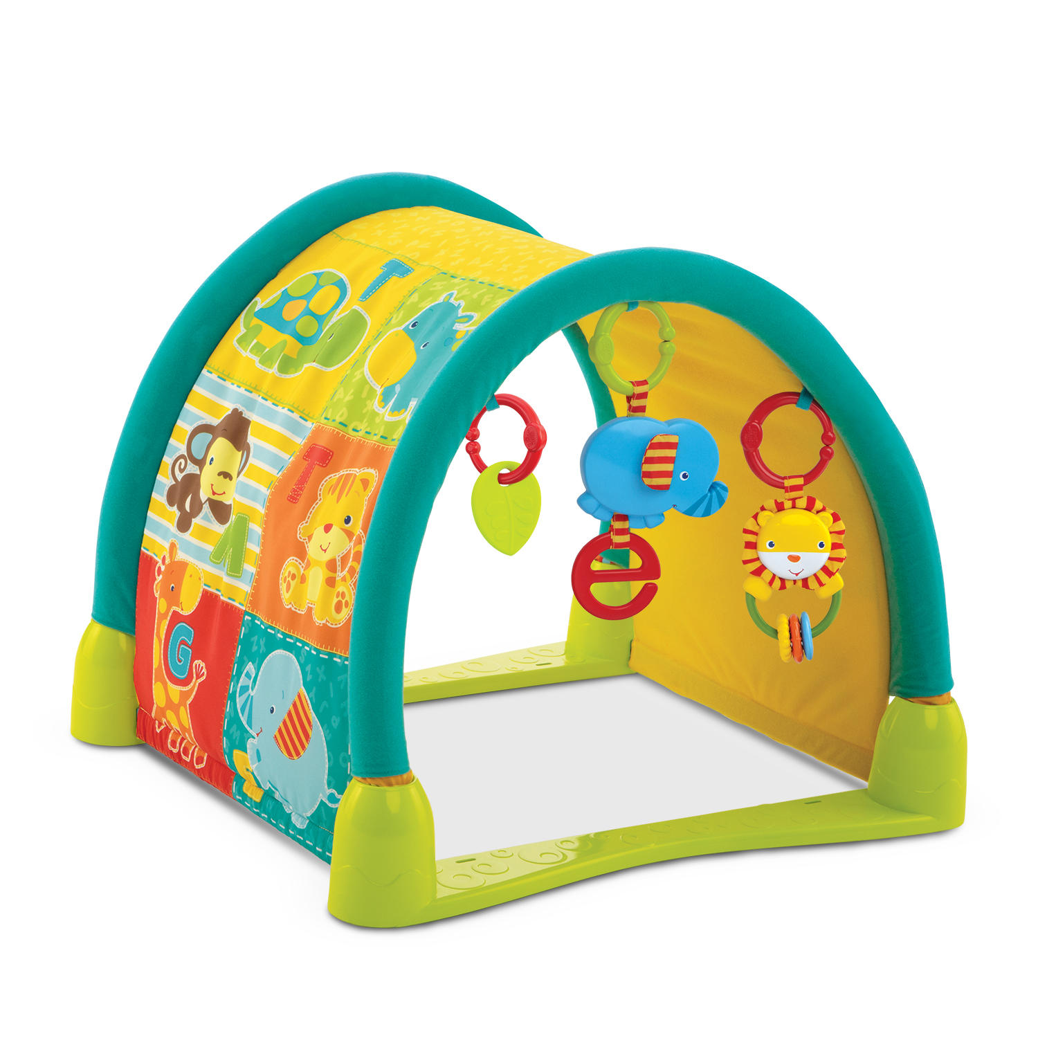 3-in-1 Jungle Fun Tunnel™ Activity Gym