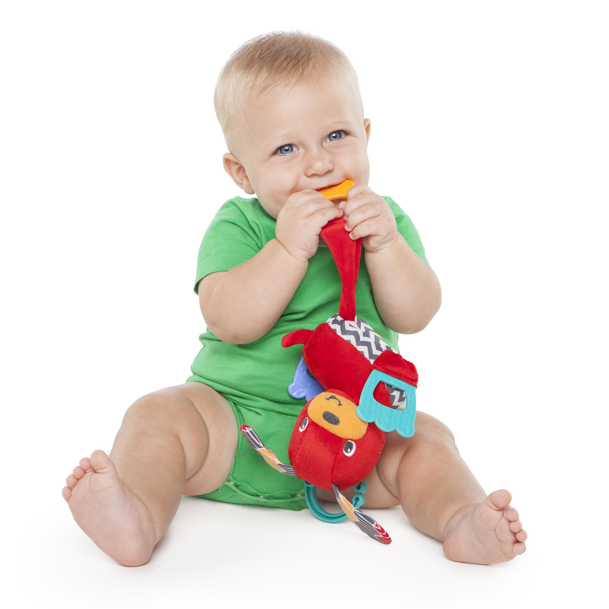Tug 'n Teethe Puppy™ Plush Teether