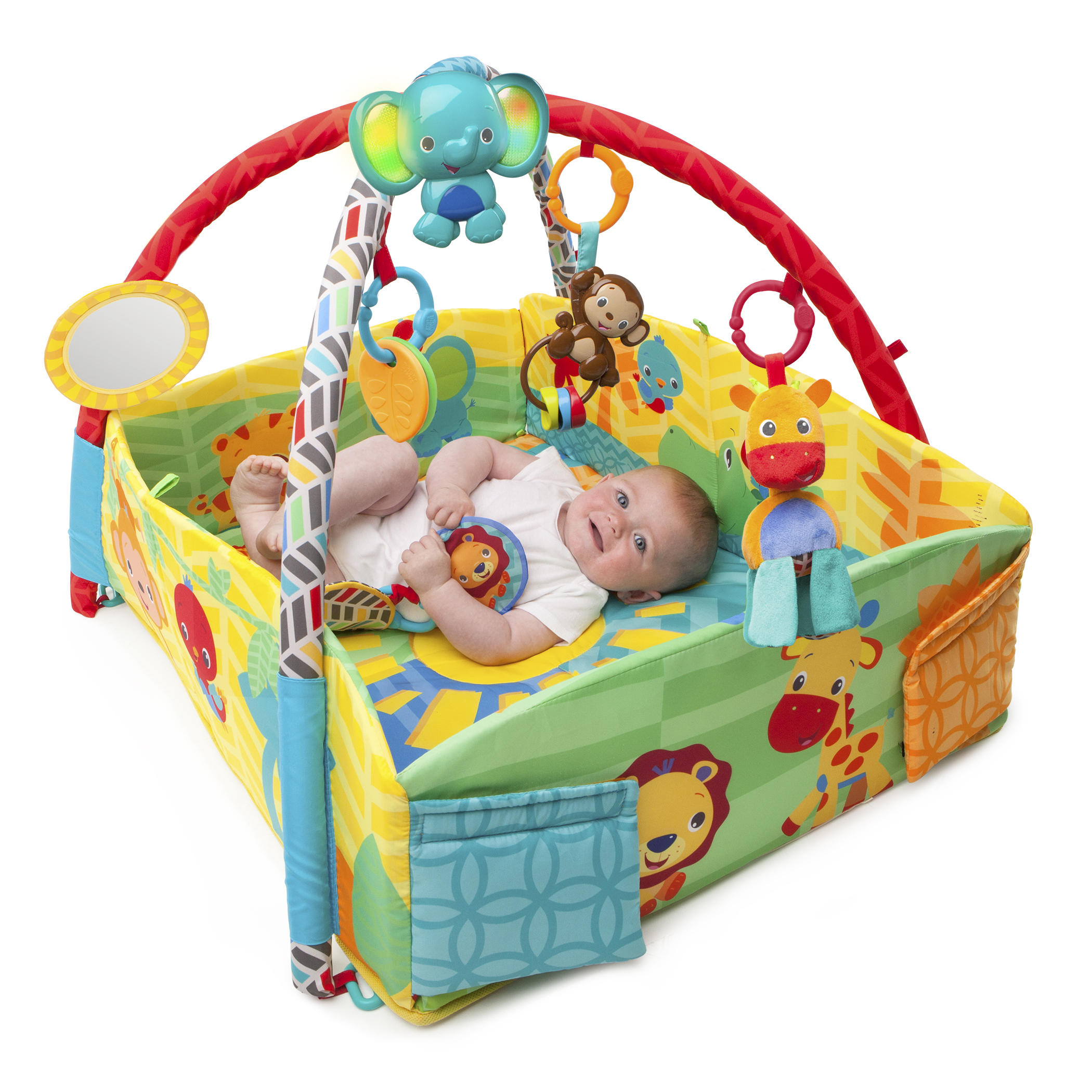 Sunny Safari™ Baby's Play Place™ Activity Gym