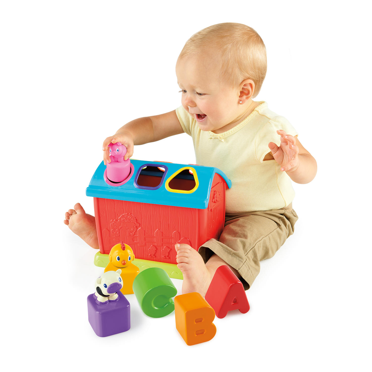 Barnyard Shape Sorter™ Toy