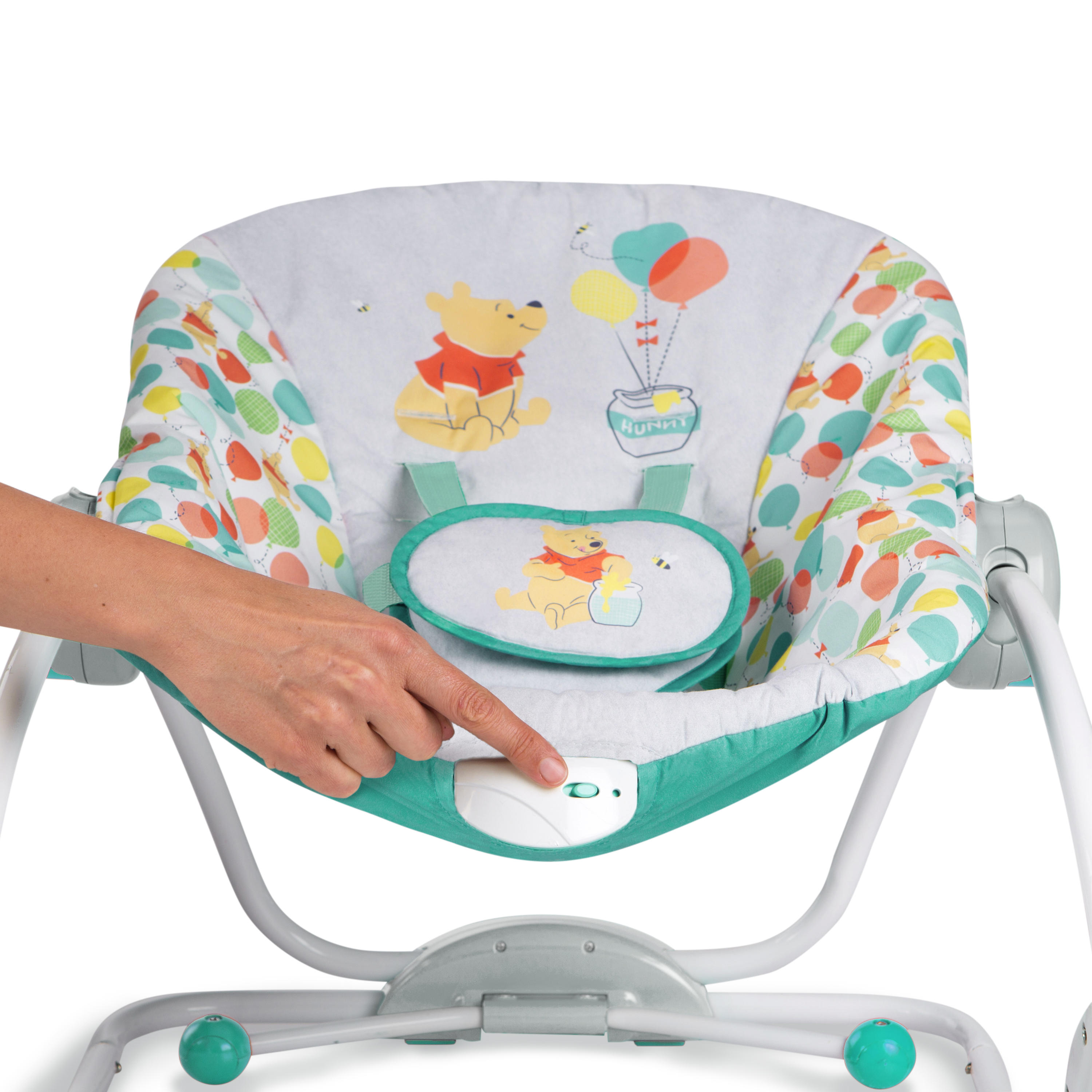 Winnie the Pooh Happy As Can Bee Infant to Toddler Rocker from Bright Starts