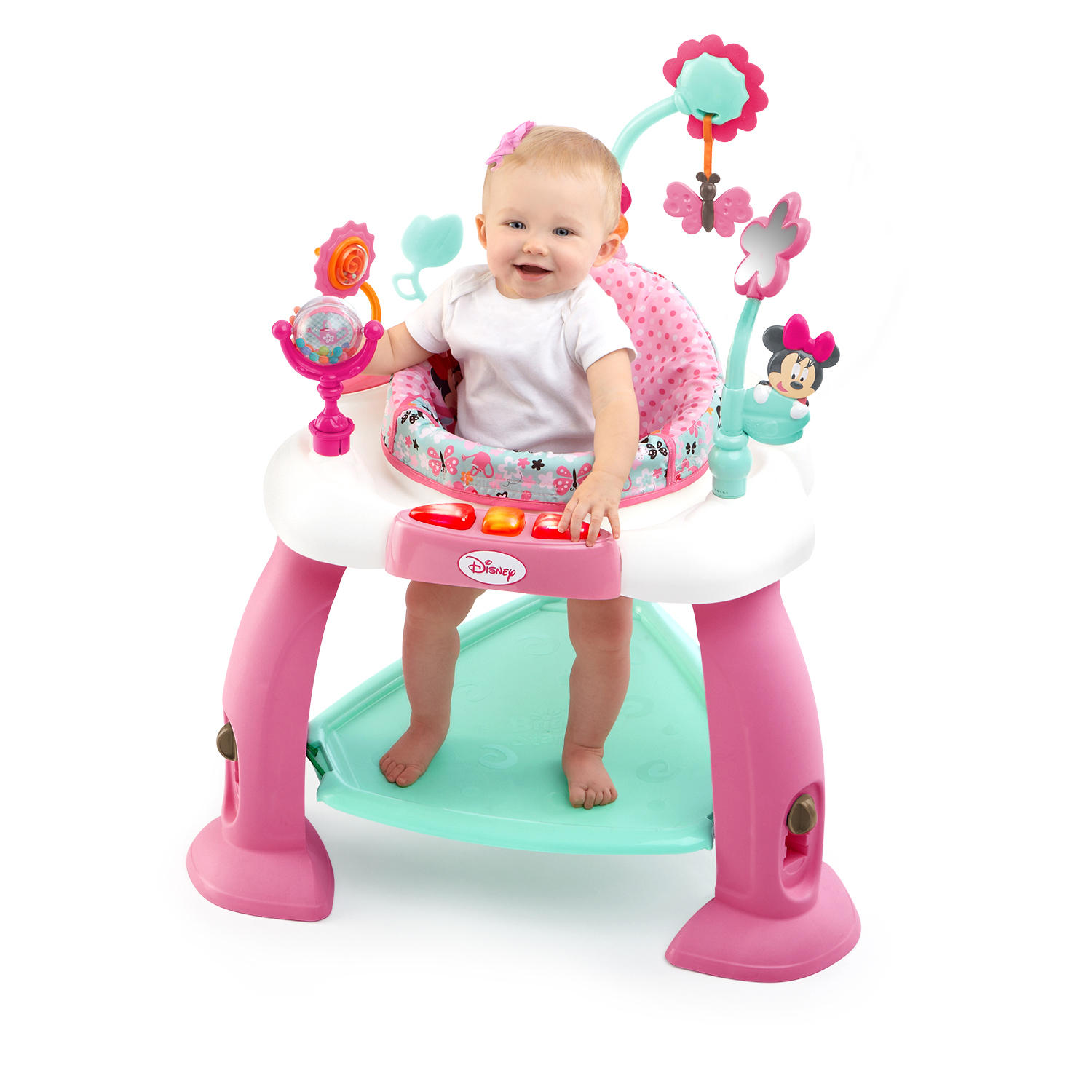 Disney Baby MINNIE MOUSE Premier Bounce & Bloom™ Activity Jumper from Bright Starts™