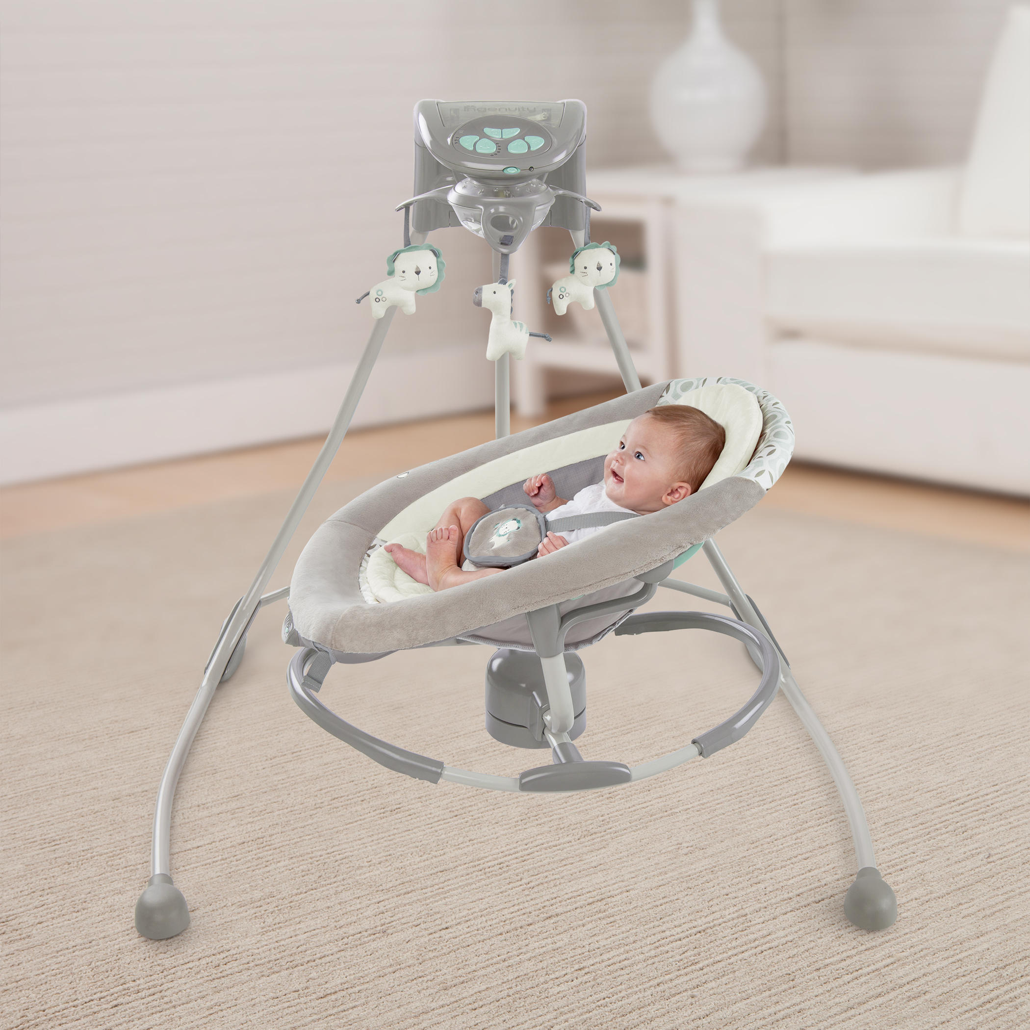 Inlighten Cradling Swing & Rocker™ - Orson™