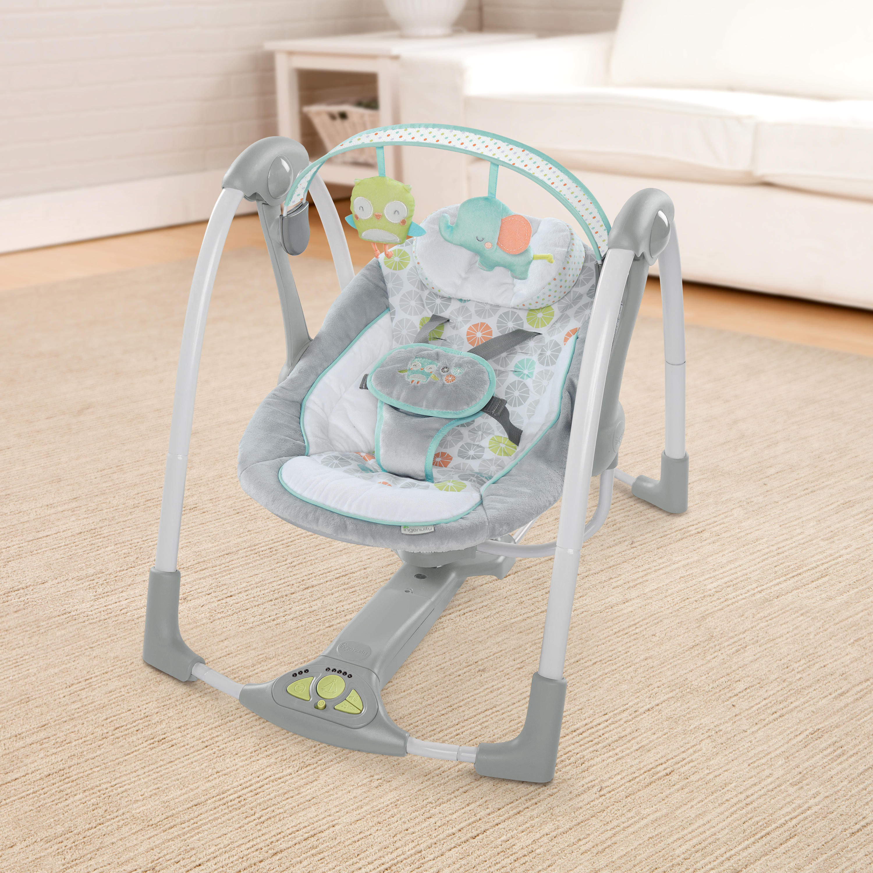 Swing 'n Go Portable Swing™ - Hugs & Hoots™