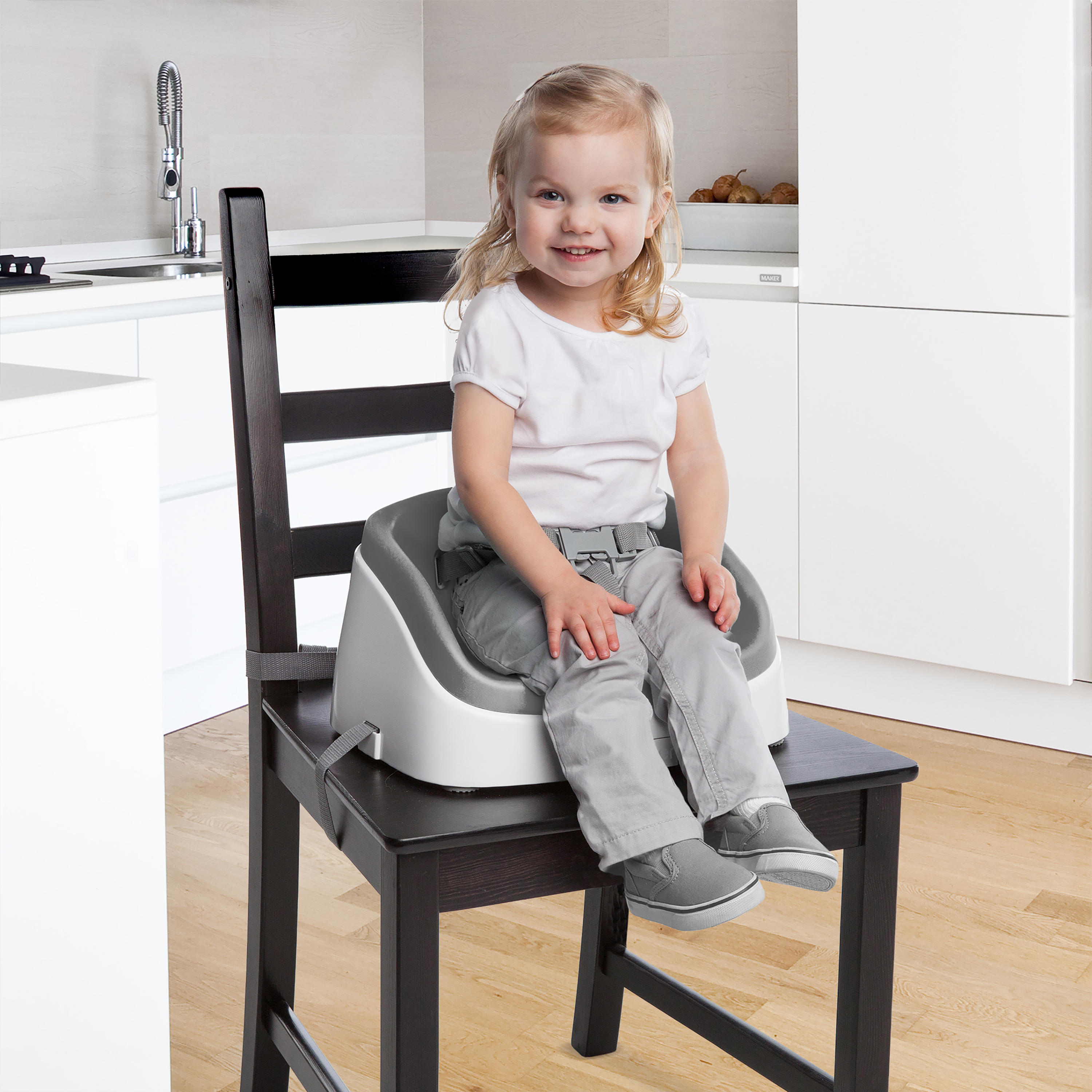 SmartClean Toddler Booster™ - Slate