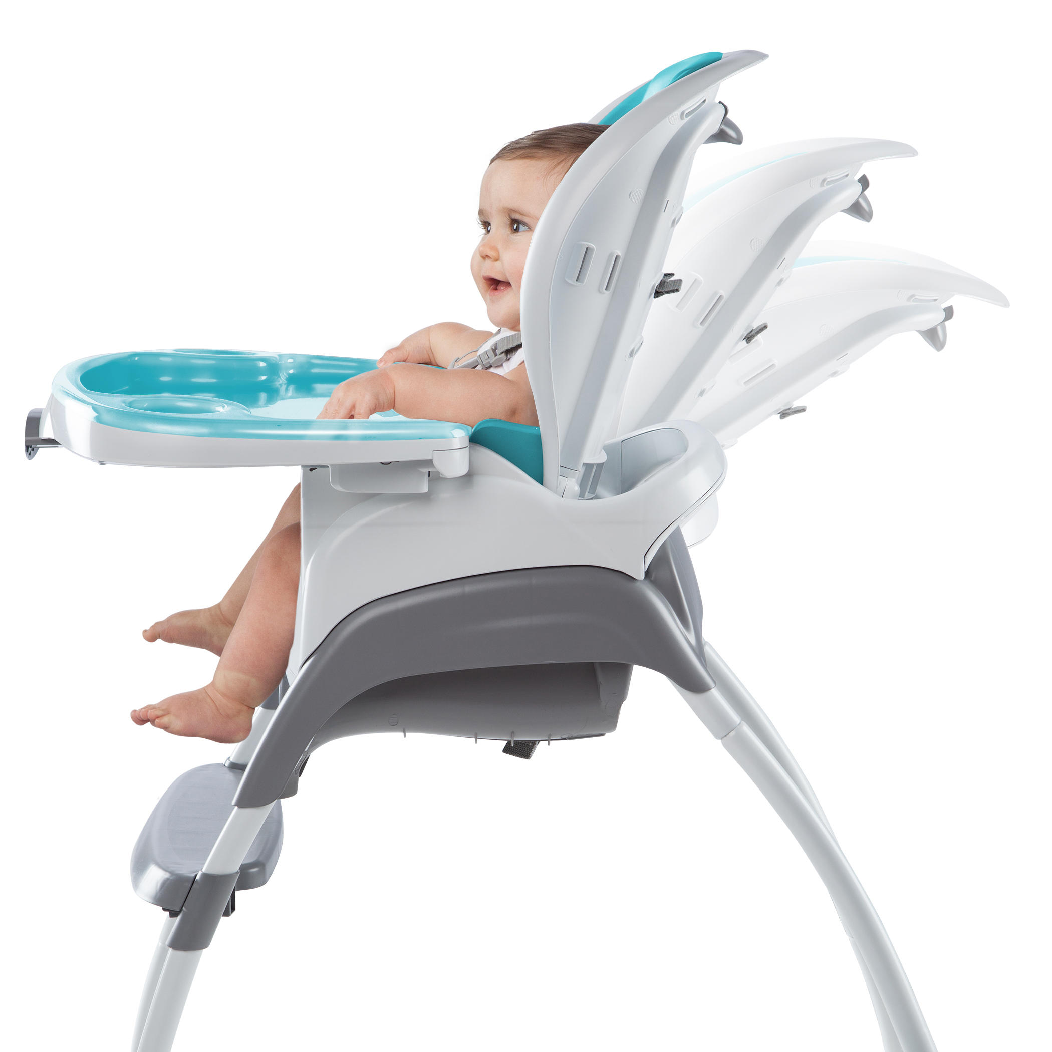 Trio 3-in-1 SmartClean High Chair™ - Aqua