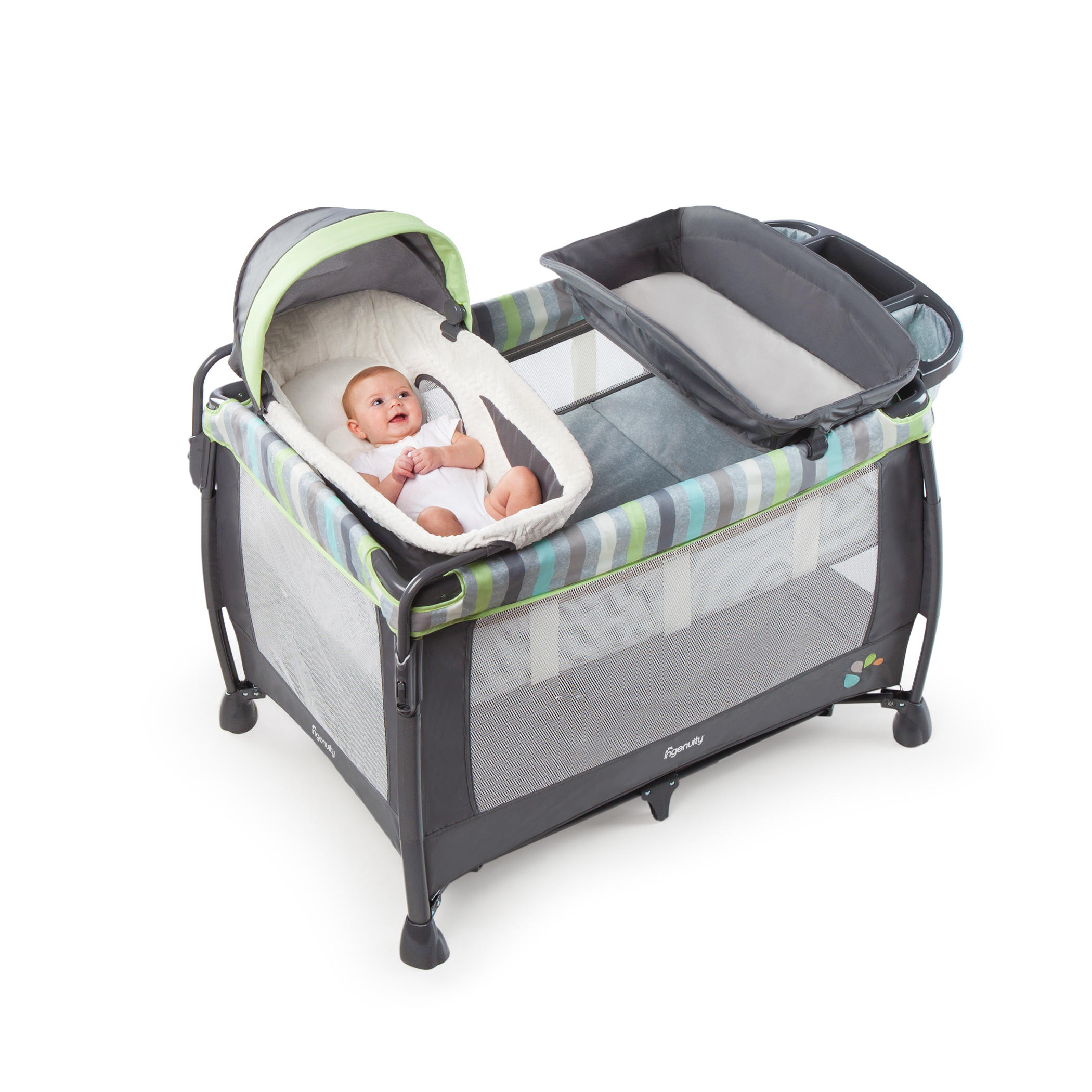 Soothe Me Softly Washable Playard  - Vesper™