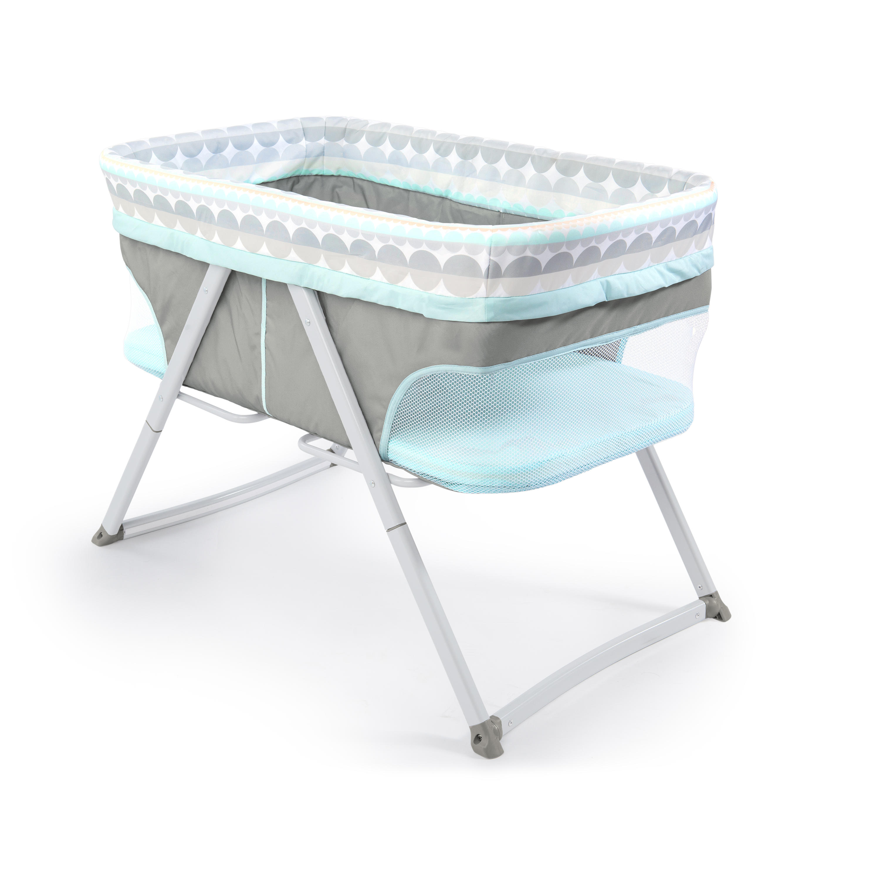 FoldAway Rocking Bassinet™ – Juniper™