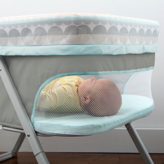 Foldaway Rocking Bassinet Juniper