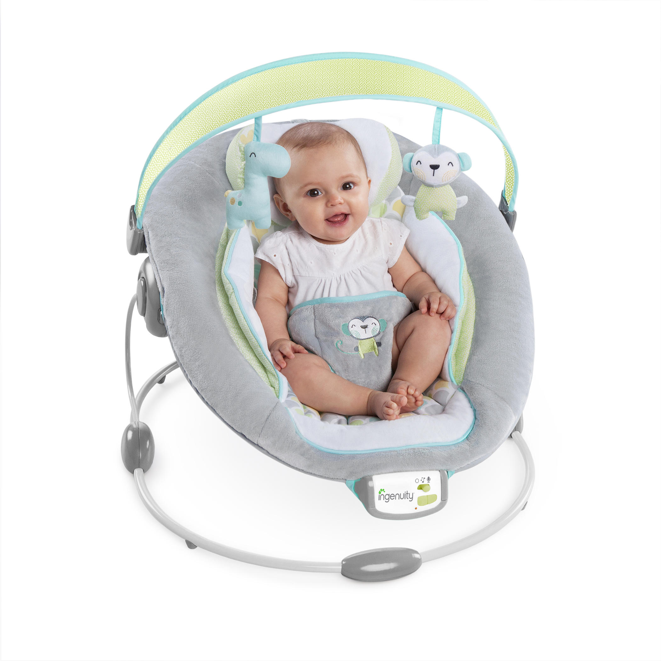 Soothe 'n Delight Bouncer™ - Savvy Safari™