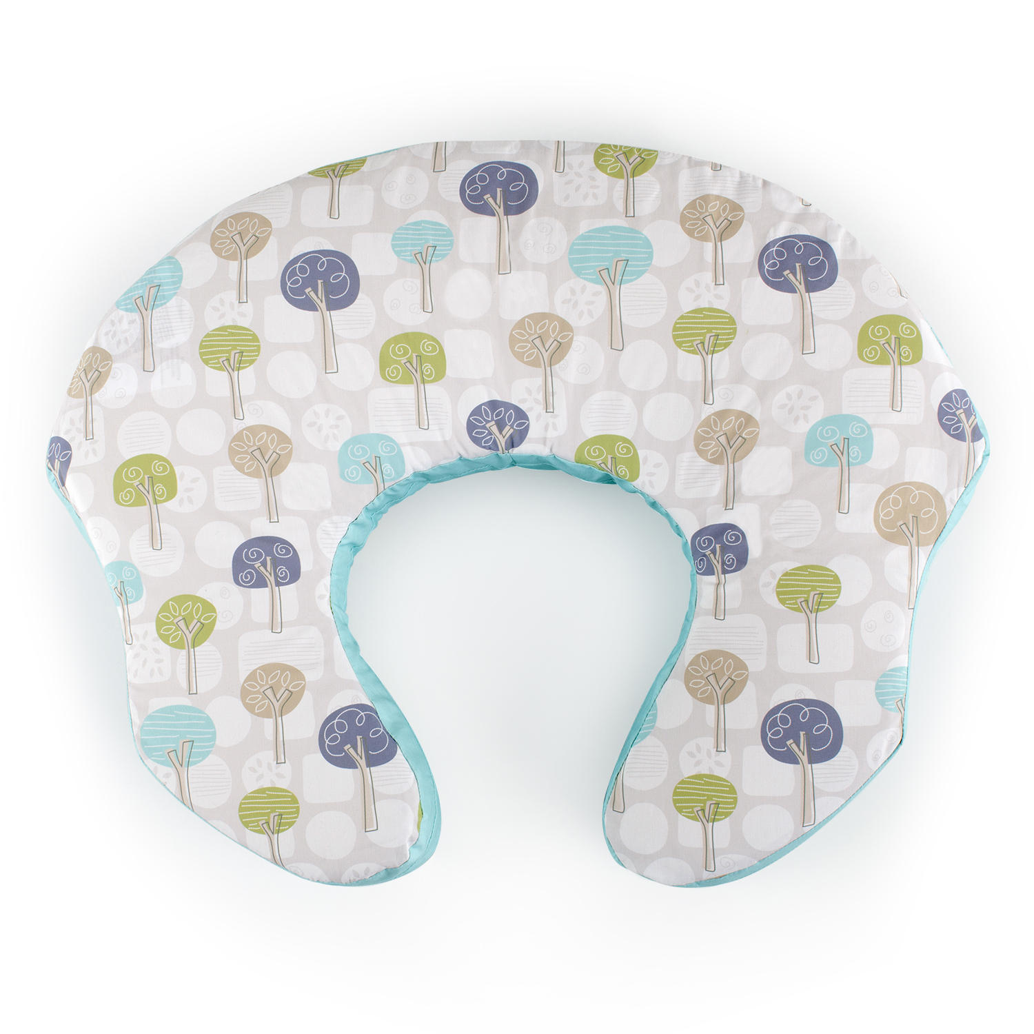 mombo™ Covered Nursing Pillow - Forest Mist™
