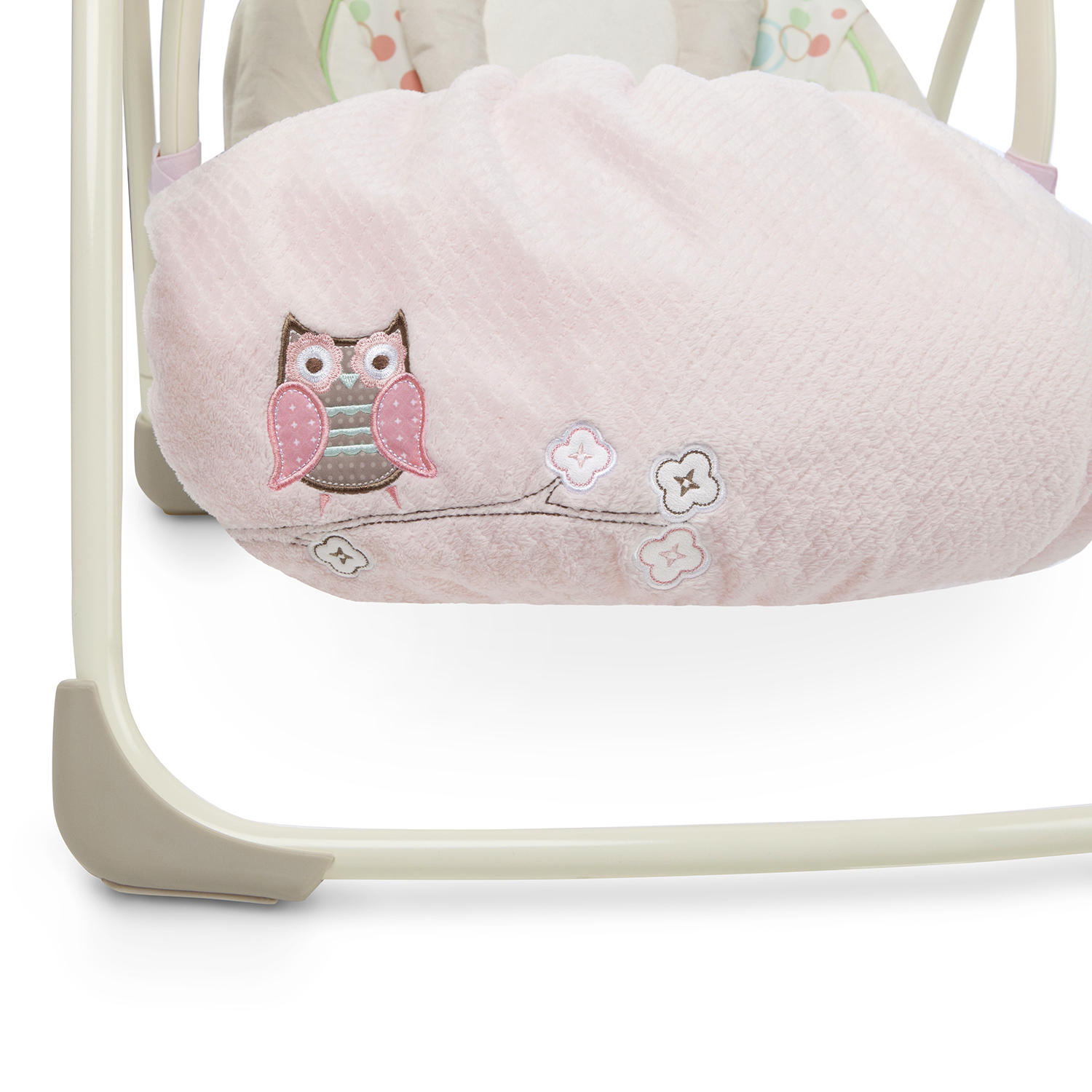 Snuggle Stay Swing and Bouncer Blanket - Hoo Loves Pink™