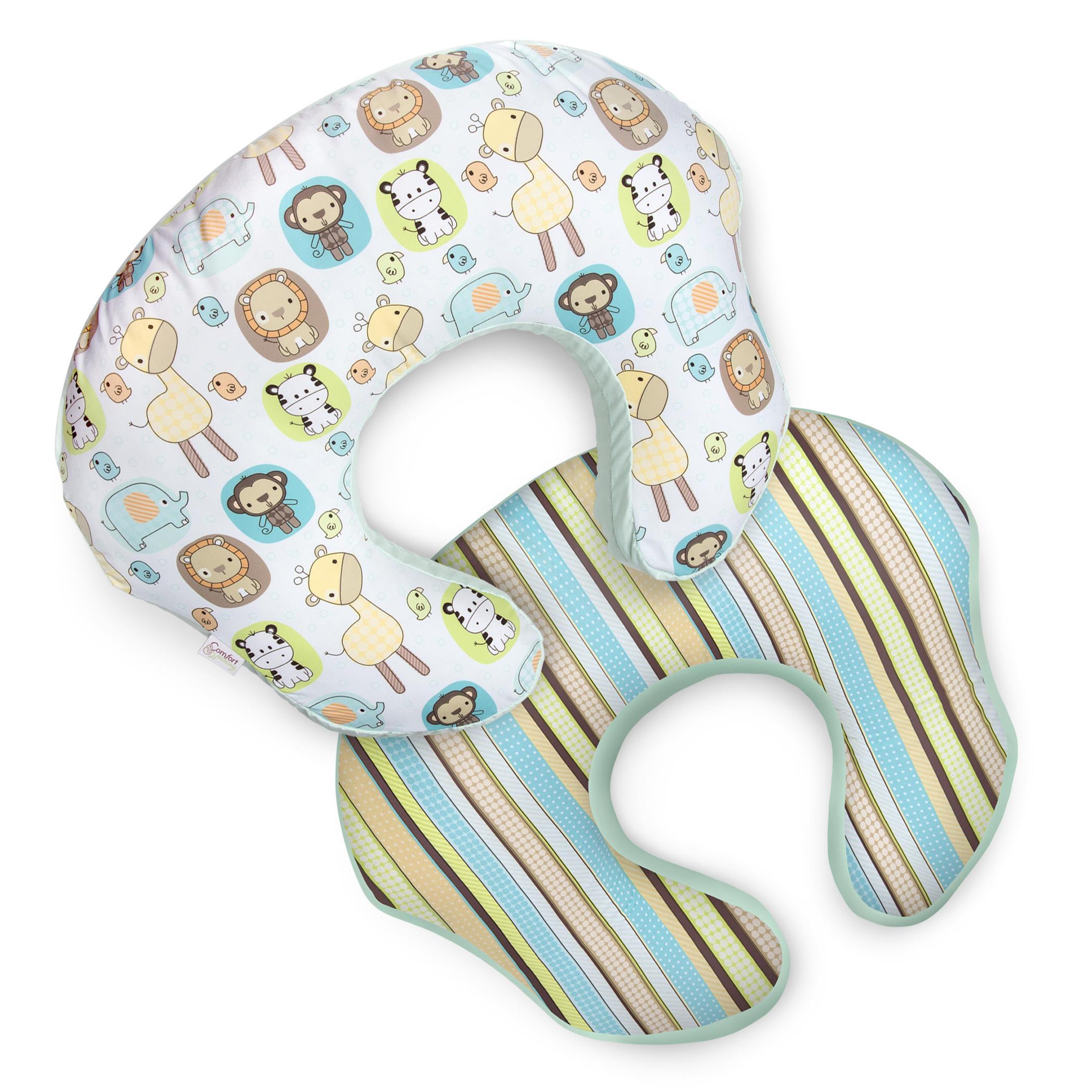 mombo™ Nursing Pillow Slipcover - Quiet Safari™