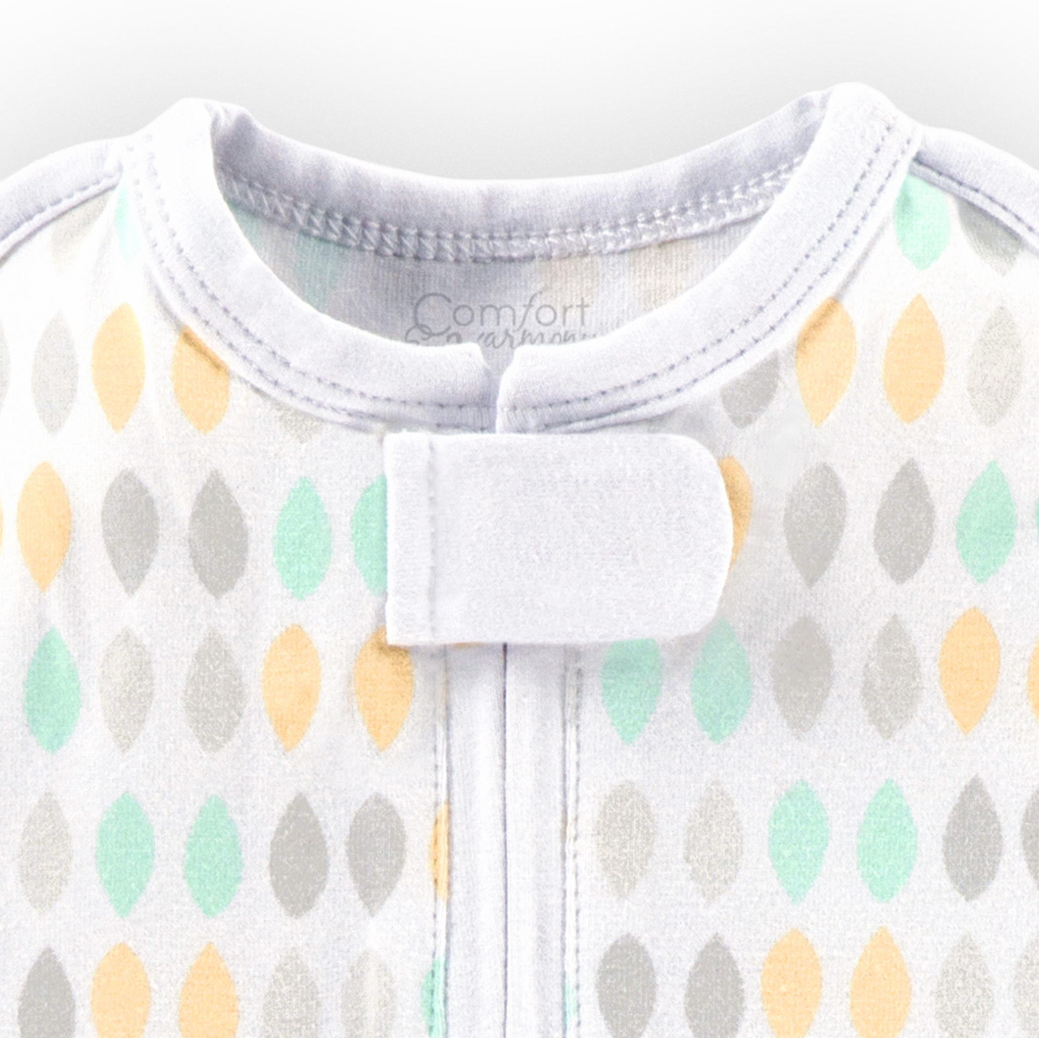 Woombie™ Perfect Peanut Swaddle™ - Restful Raindrops™ - 0-3 Months