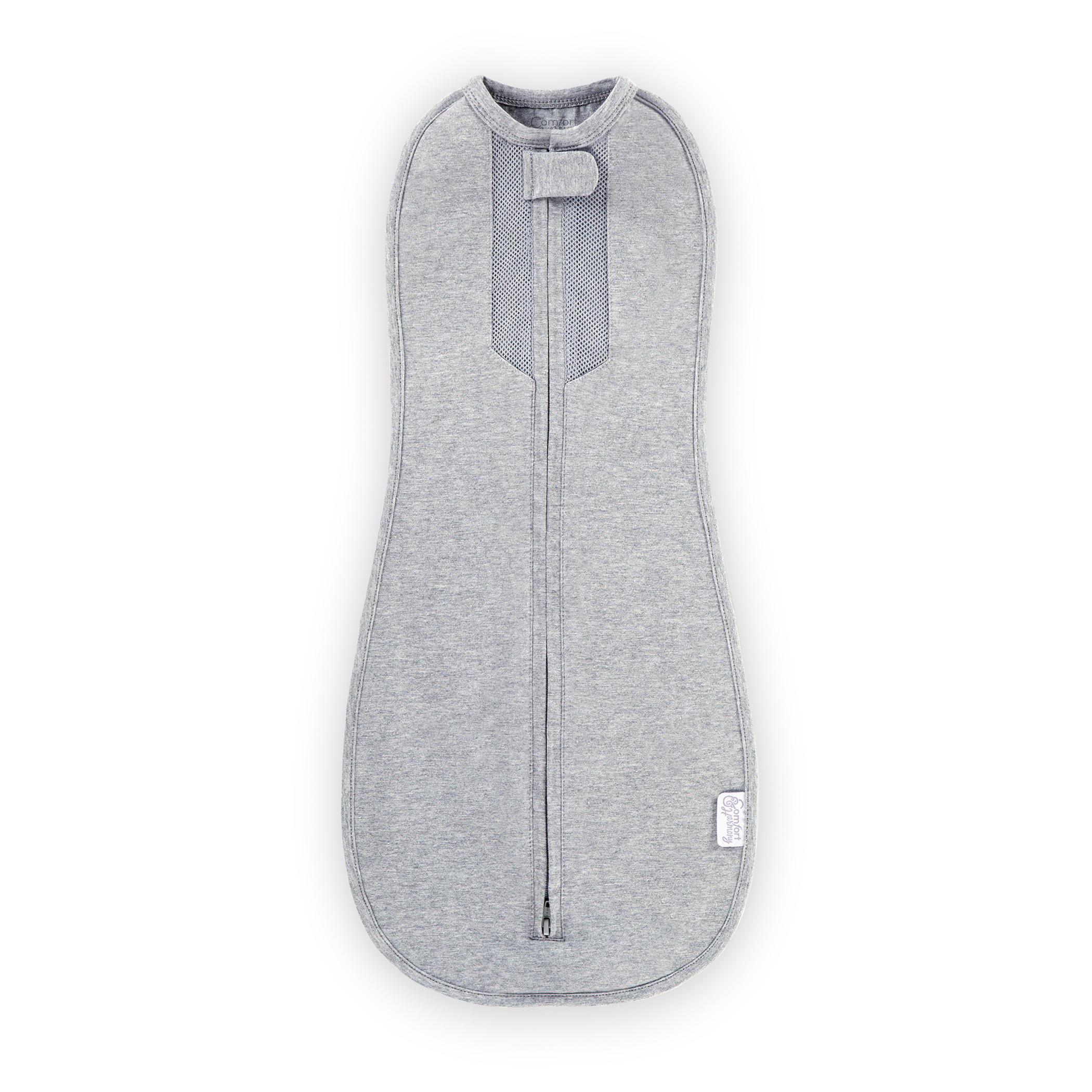Woombie™ Peanut Air Swaddle™ - Homey Heather™ - 0-3 Months