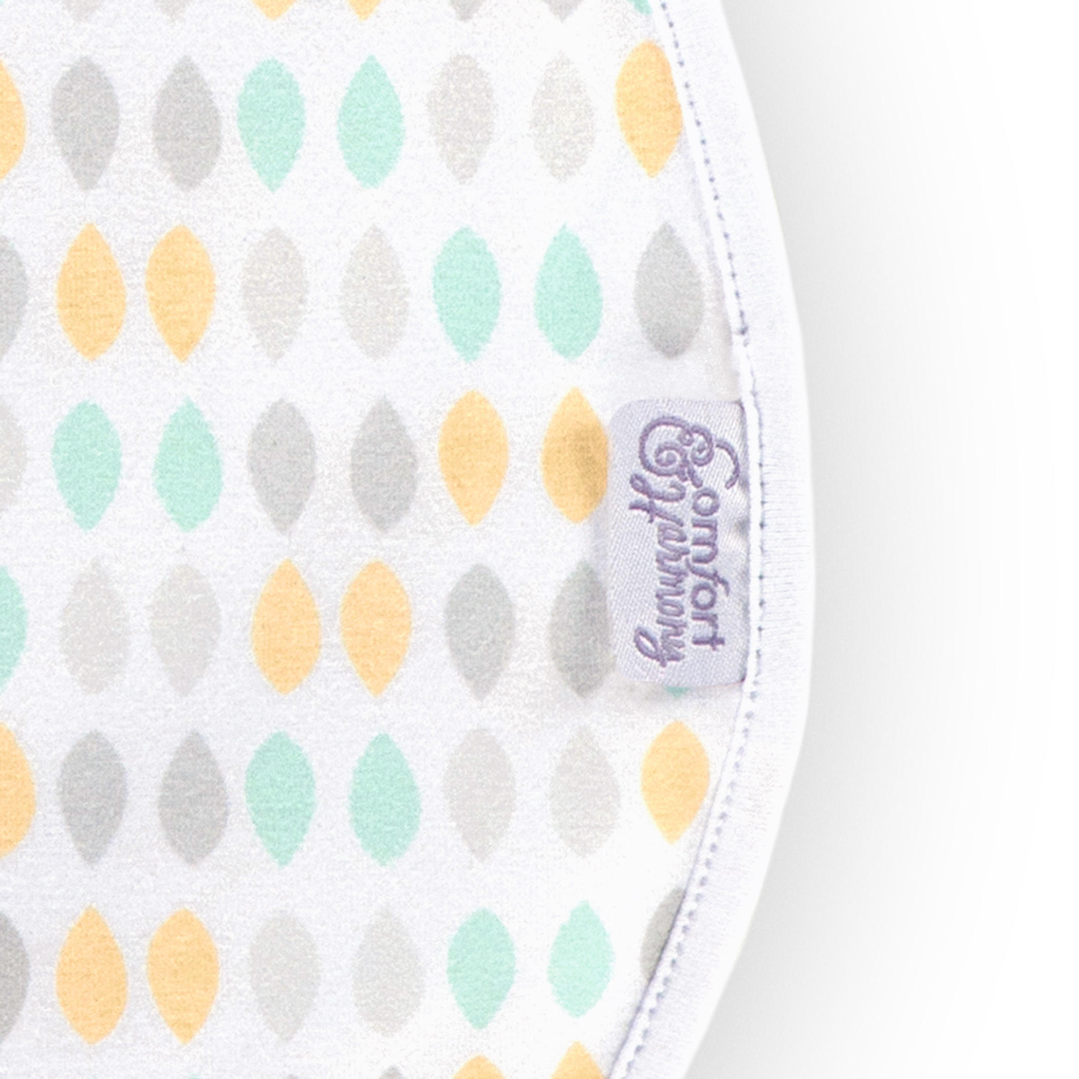 Woombie™ Peanut Convertible Swaddle™ - Restful Raindrops™ - 0-3 Months