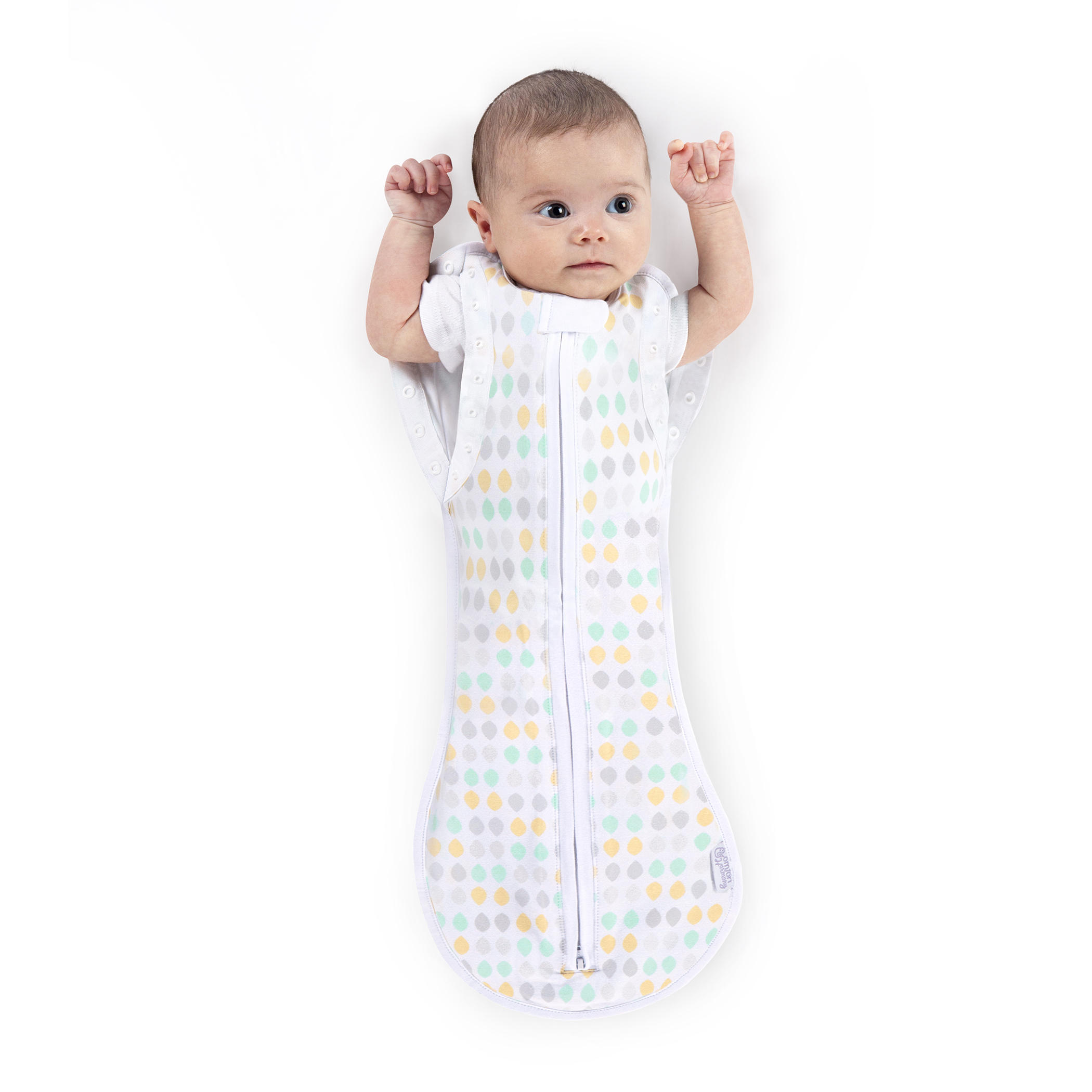 Woombie™ Peanut Convertible Swaddle™ - Restful Raindrops™ - 3-6months