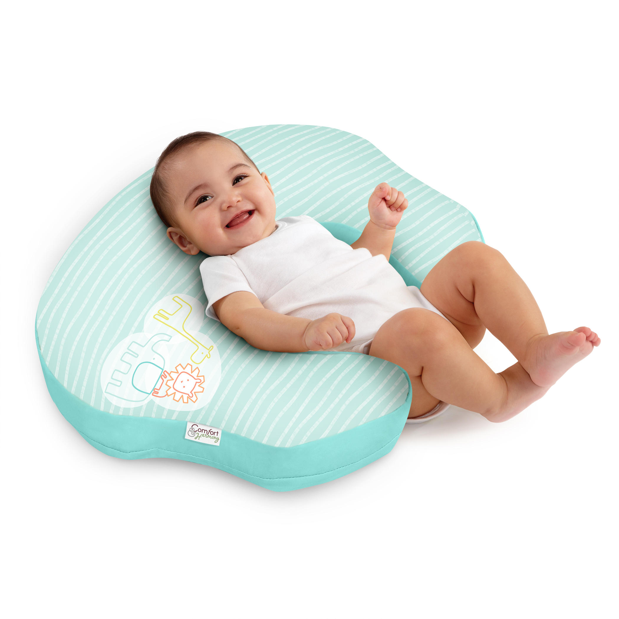 Simply mombo™ Love-to-Feed Nursing Pillow™ - Turquoise Trio™