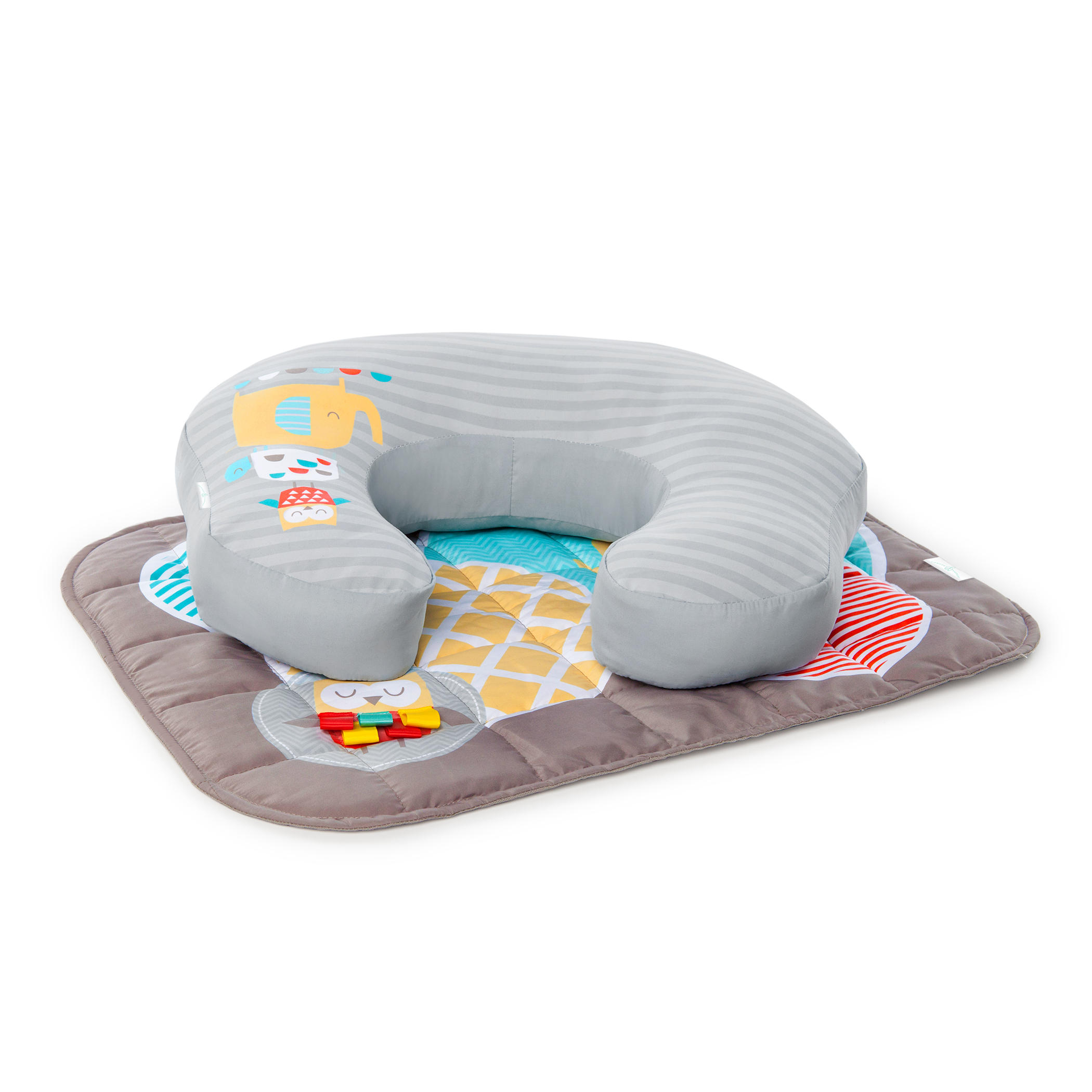 Simply mombo™ Love to Lounge Mat™ and Nursing Pillow