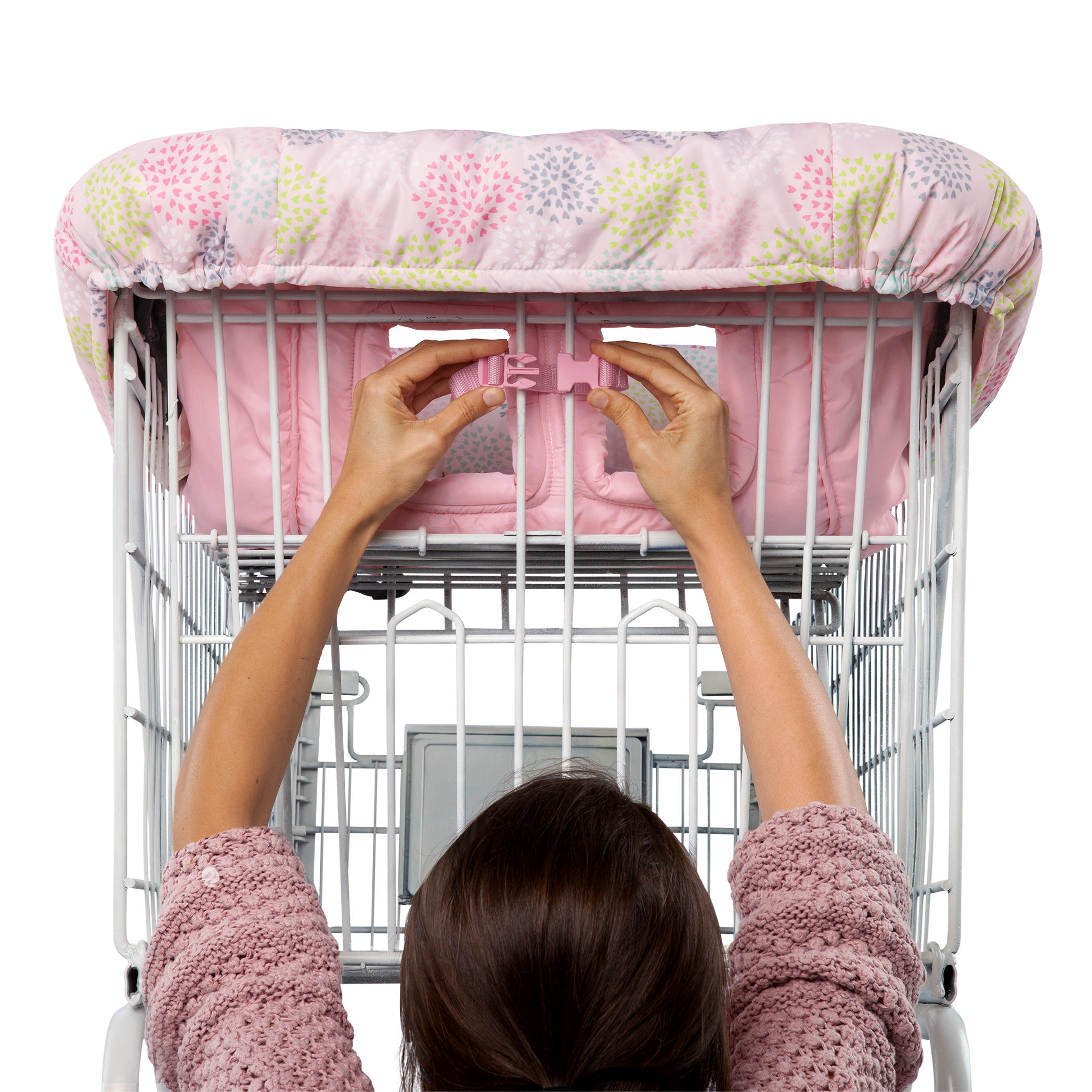 Cozy Cart Cover™ - Pink Floral™