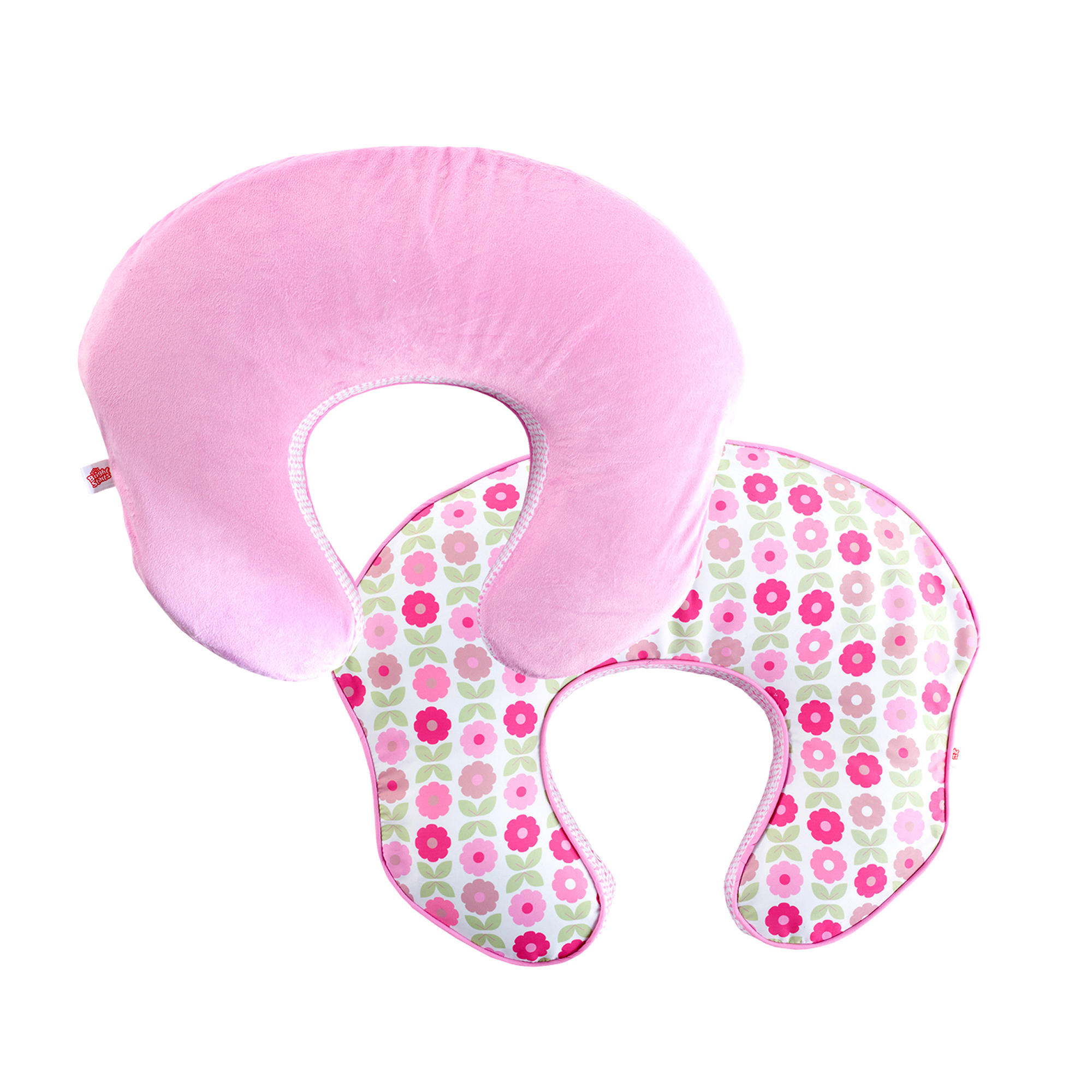 mombo Deluxe™ Nursing Pillow Slipcover - Blush 'n Bloom™