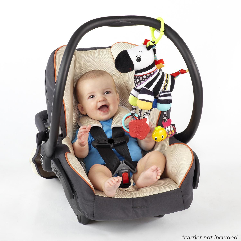 Sensory Plush Pals™ Zebra Take-Along Toy
