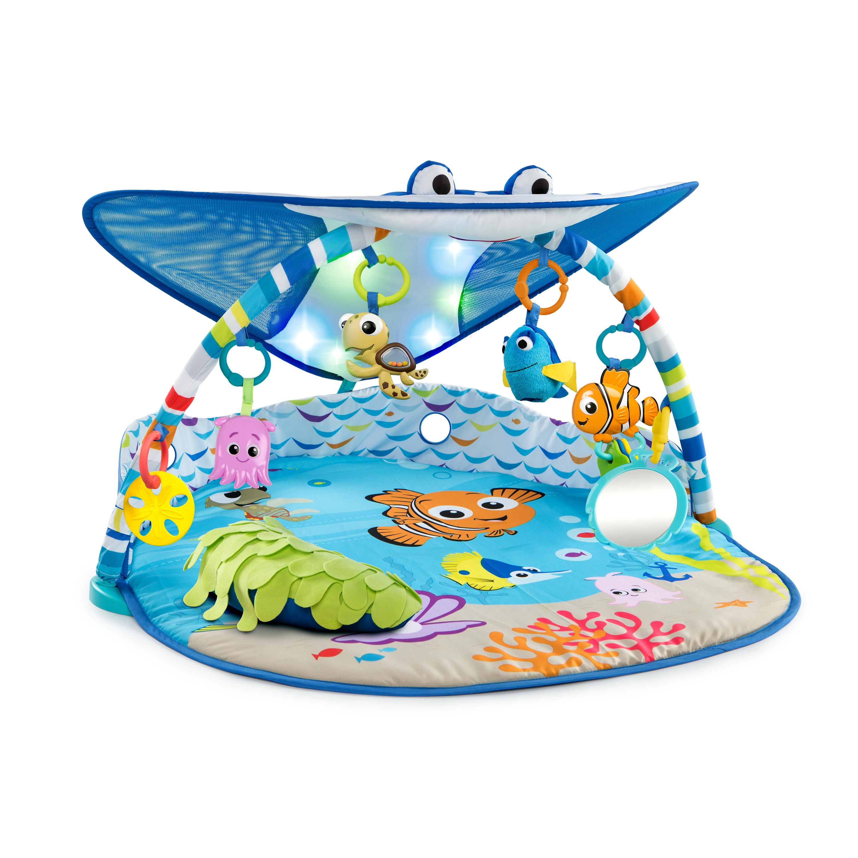 Mr. Ray Ocean Lights Activity Gym