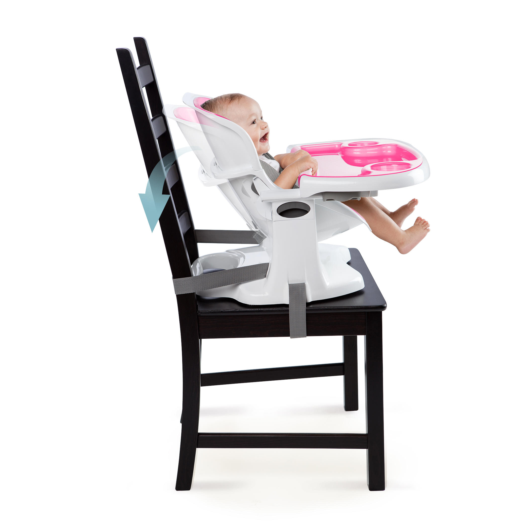 SmartClean ChairMate High Chair™ - Magenta