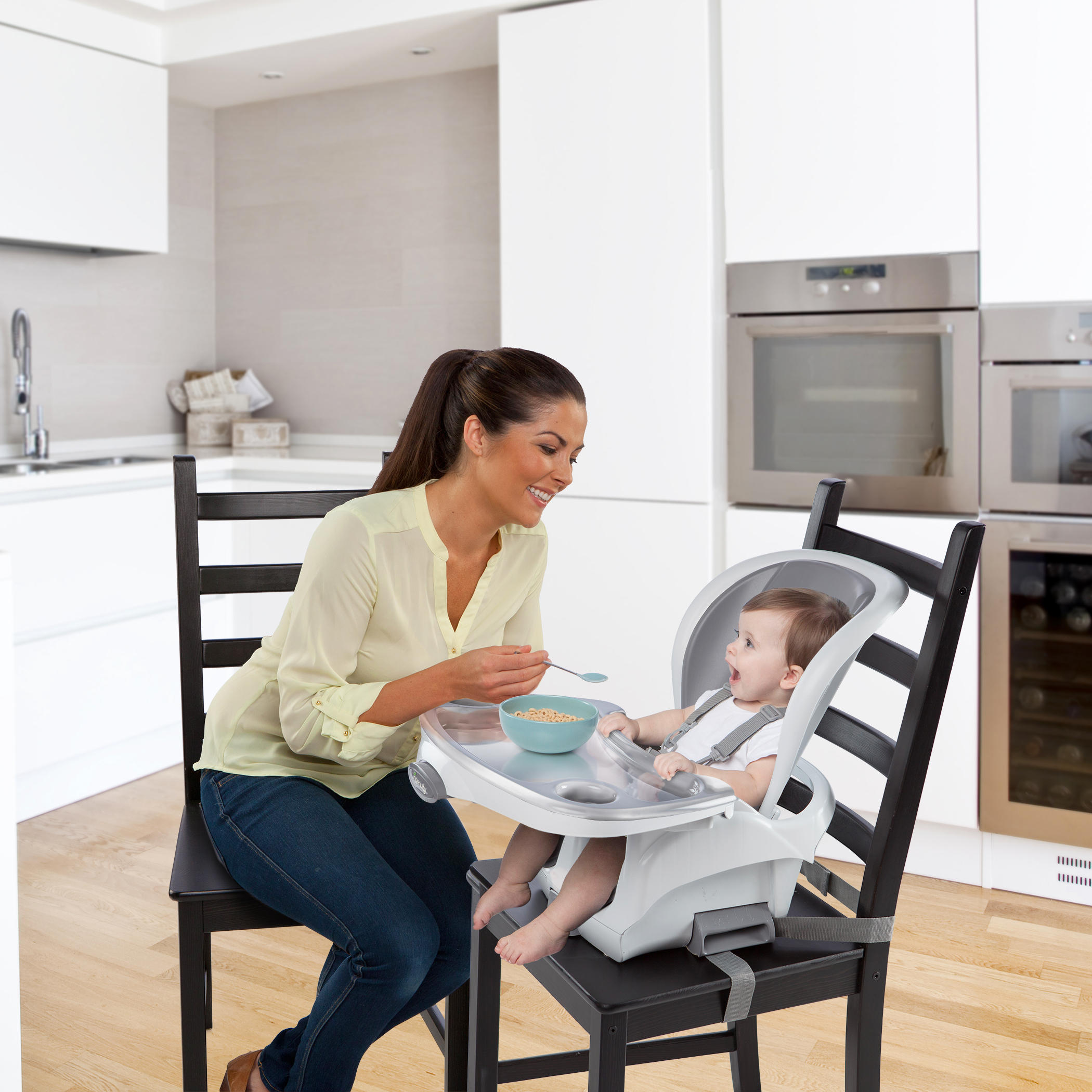 SmartClean™ Trio 3-in-1 High Chair™ - Slate