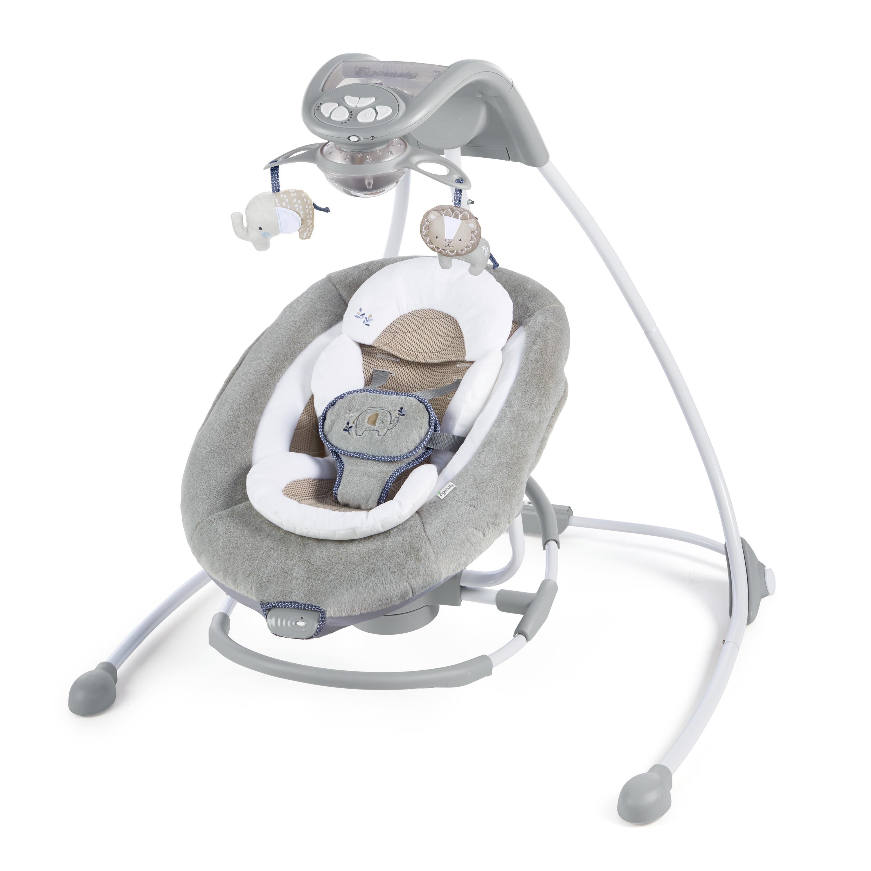 DreamComfort™ InLighten Cradling Swing & Rocker™ - Townsend™