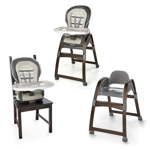 Trio 3 In 1 Wood High Chair Tristan