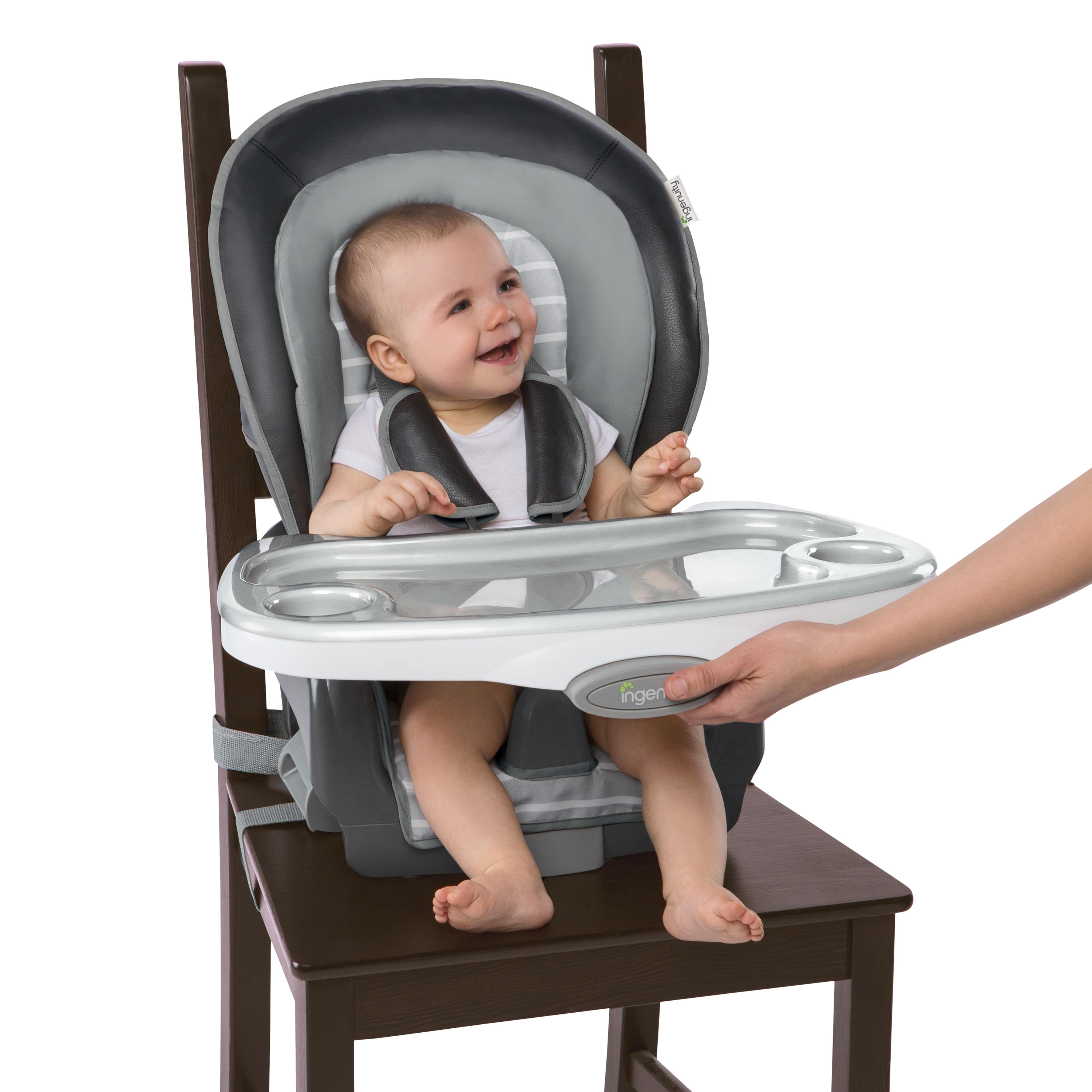 Boutique Collection™ 3-in-1 Wood High Chair™ - Bella Teddy™