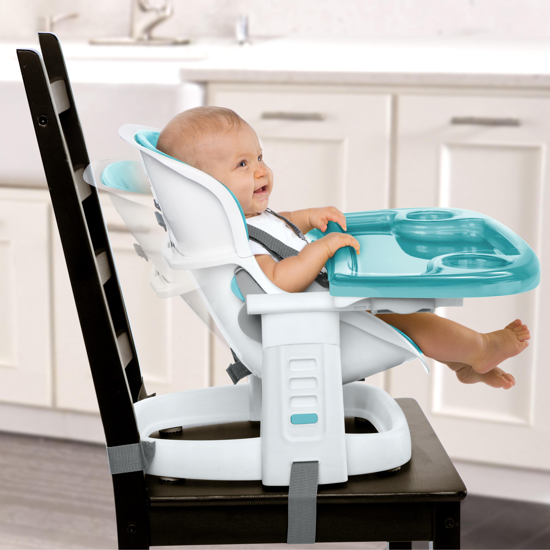 SmartClean ChairMate High Chair™ - Peacock Blue