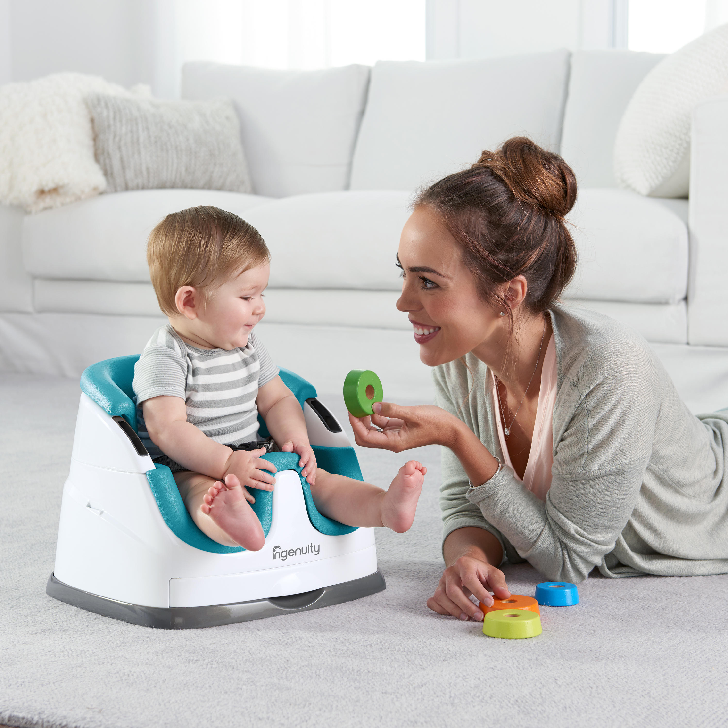 Baby Base 2-in-1™ Seat - Peacock Blue