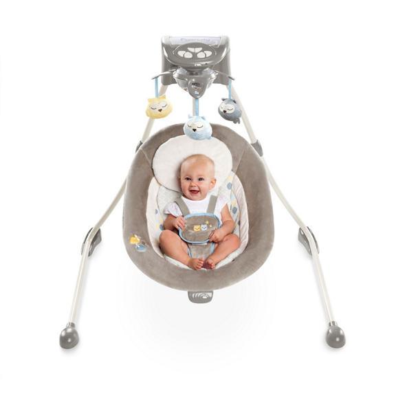 ingenuity inlighten cradling swing instructions