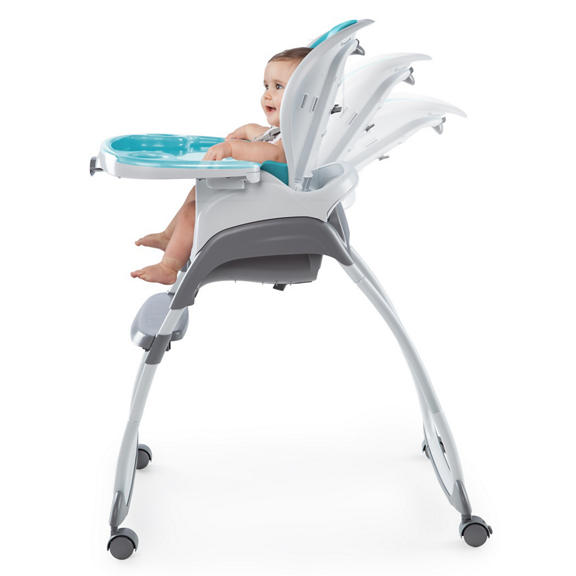 Smartclean Trio 3 In 1 High Chair Aqua